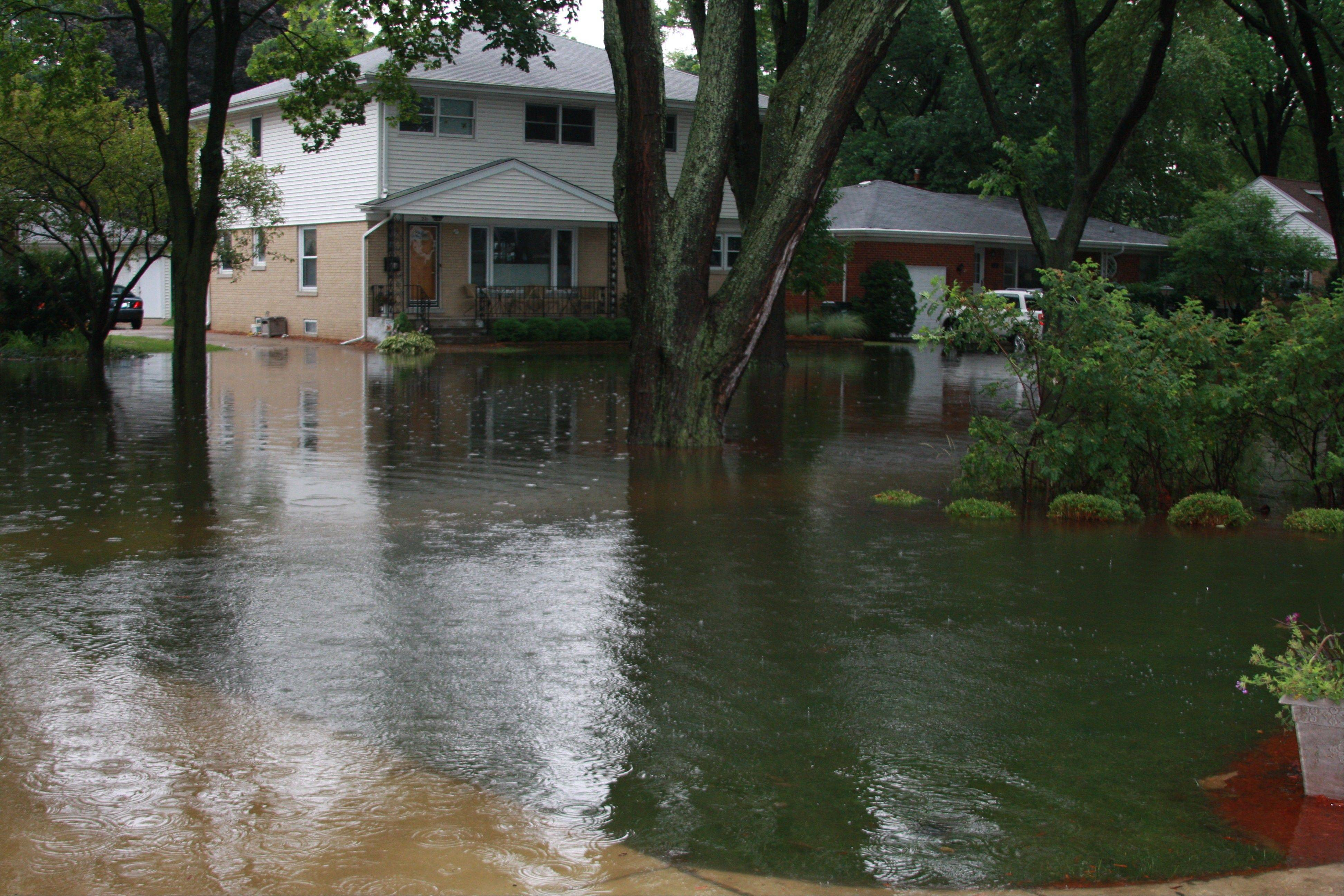 Arlington hts. neighborhoods beg for flood help