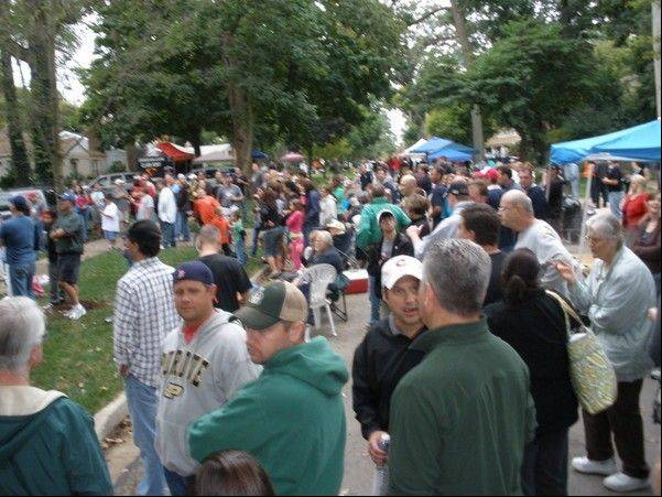 This year's Backyard BBQ Cook-off has been moved to downtown Glen Ellyn, because it had outgrown its block party format from previous years.
