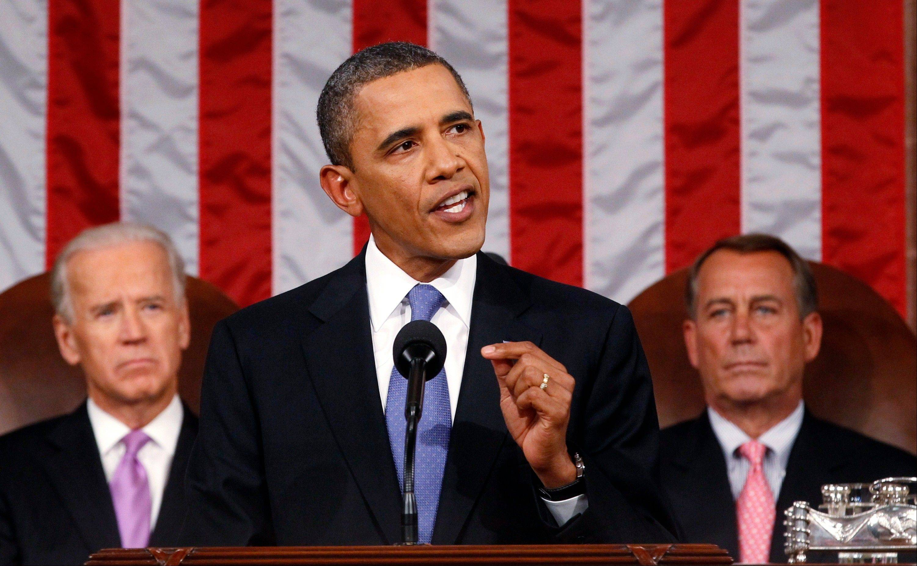 President Barack Obama did not spell out exactly how he would pay for the measures contained in his nearly $450 billion American Jobs Act but said he would send his proposed specifics in a week to the new congressional supercommittee charged with finding budget savings
