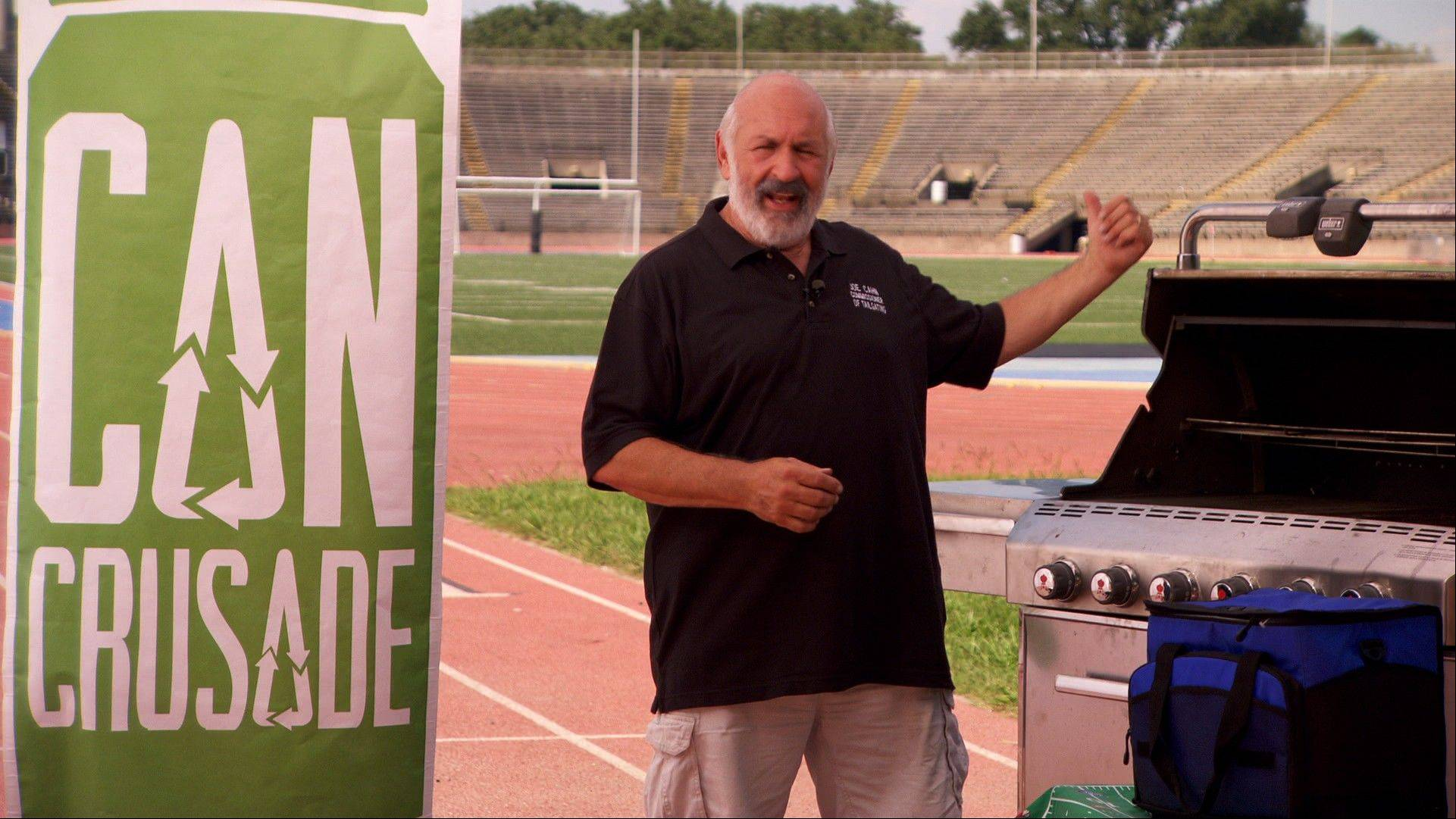 Line your grill with foil for easy clean-up and choose drinks in aluminum cans for quick chilling, says Joe Cahn, the Commissioner of Tailgating.