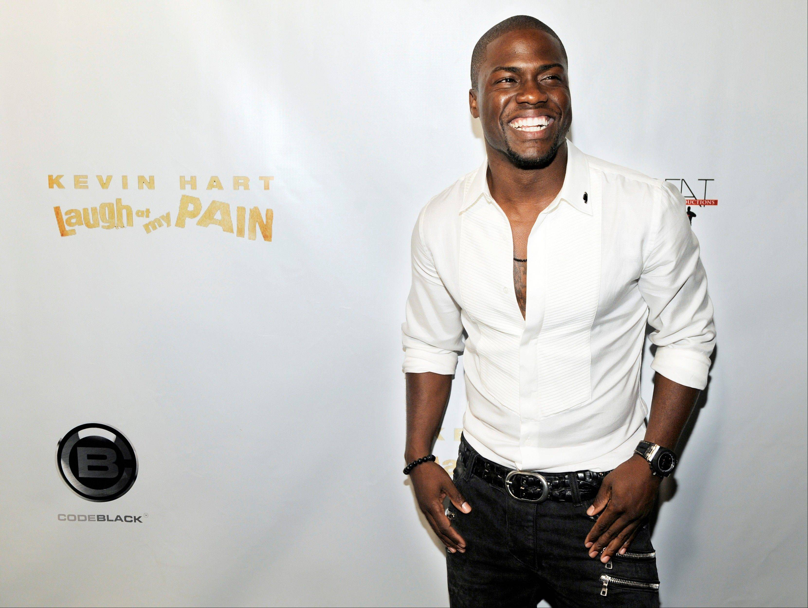 "Kevin Hart, star of the comedy concert film ""Laugh at My Pain,"" which opened Friday at the Yorktown 17 in Lombard and River East 21 in Chicago, has found a way to craft his comedy act around his most shameful situations, turning them into laughable ones."