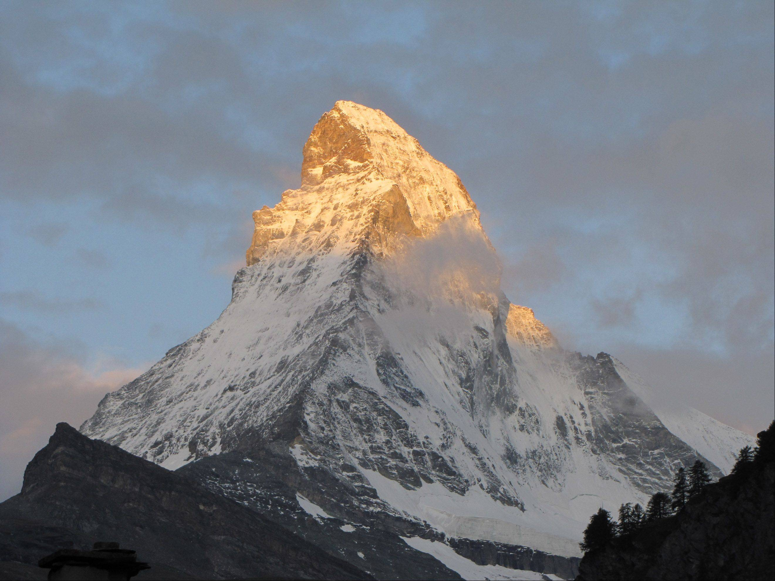 Sharon T. Goodman of Warrenville was in Zermatt, Switzerland, when she captured this image of the Matterhorn.