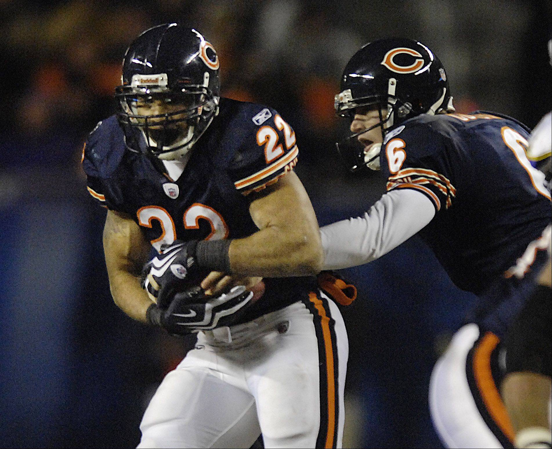 How many wins will Bears running back Matt Forte and quarterback Jake Cutler help their team get this season? Most national NFL experts are predicting the Bears won�t make the playoffs. They open Sunday at home against Atlanta.