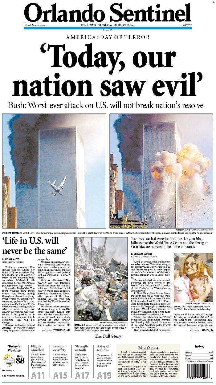 september 11th attacks.essay