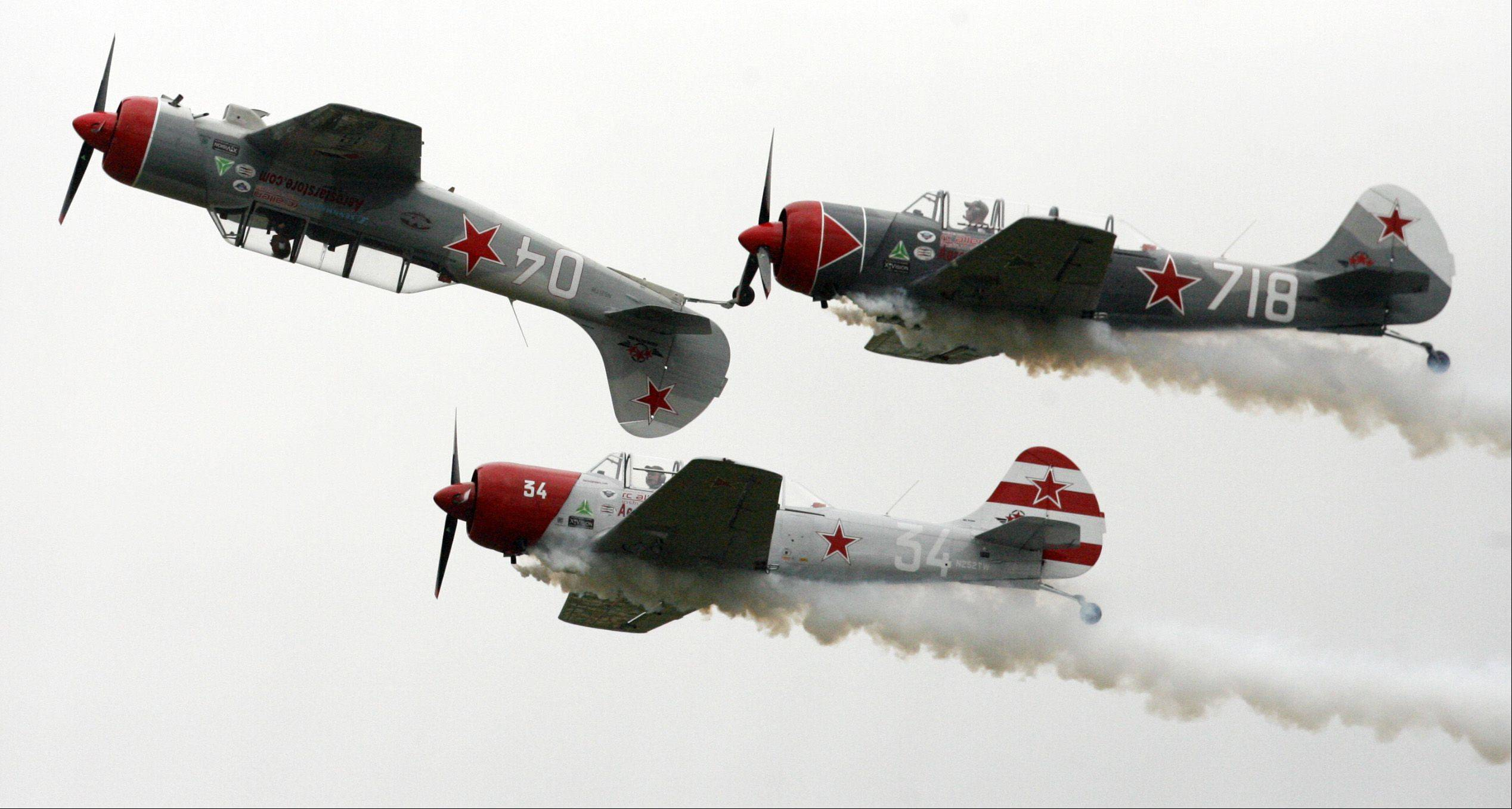"See military, civilian and stunt planes from across the country at the ""Wings Over Waukegan"" air show on Saturday, Sept. 10, at the Waukegan Regional Airport."