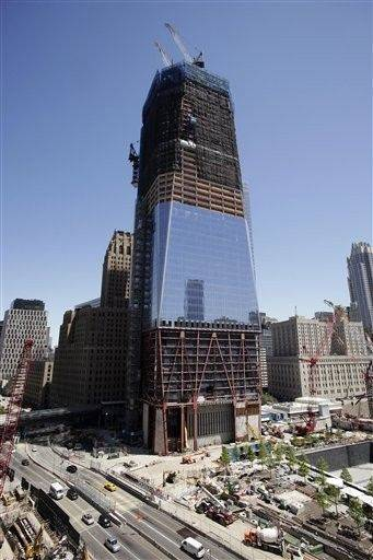 The World Trade Center site�s signature skyscraper — formerly called the Freedom Tower and now called 1 World Trade Center — is visible for miles around. It will rise to 1,776 feet, making it the tallest building in the U.S.