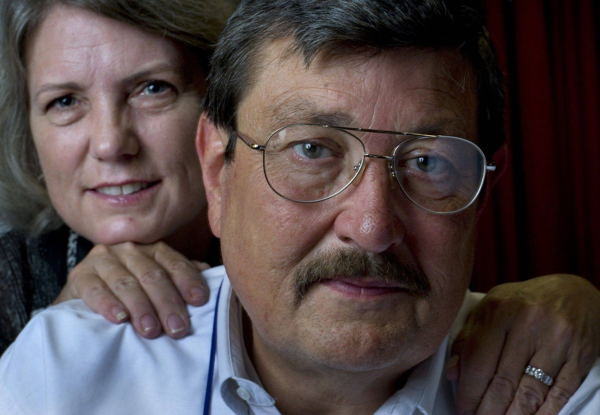 Heinz and Nora Linderman met after the Sept. 11, 2001, attack on the Pentagon. They were married in the Pentagon chapel.