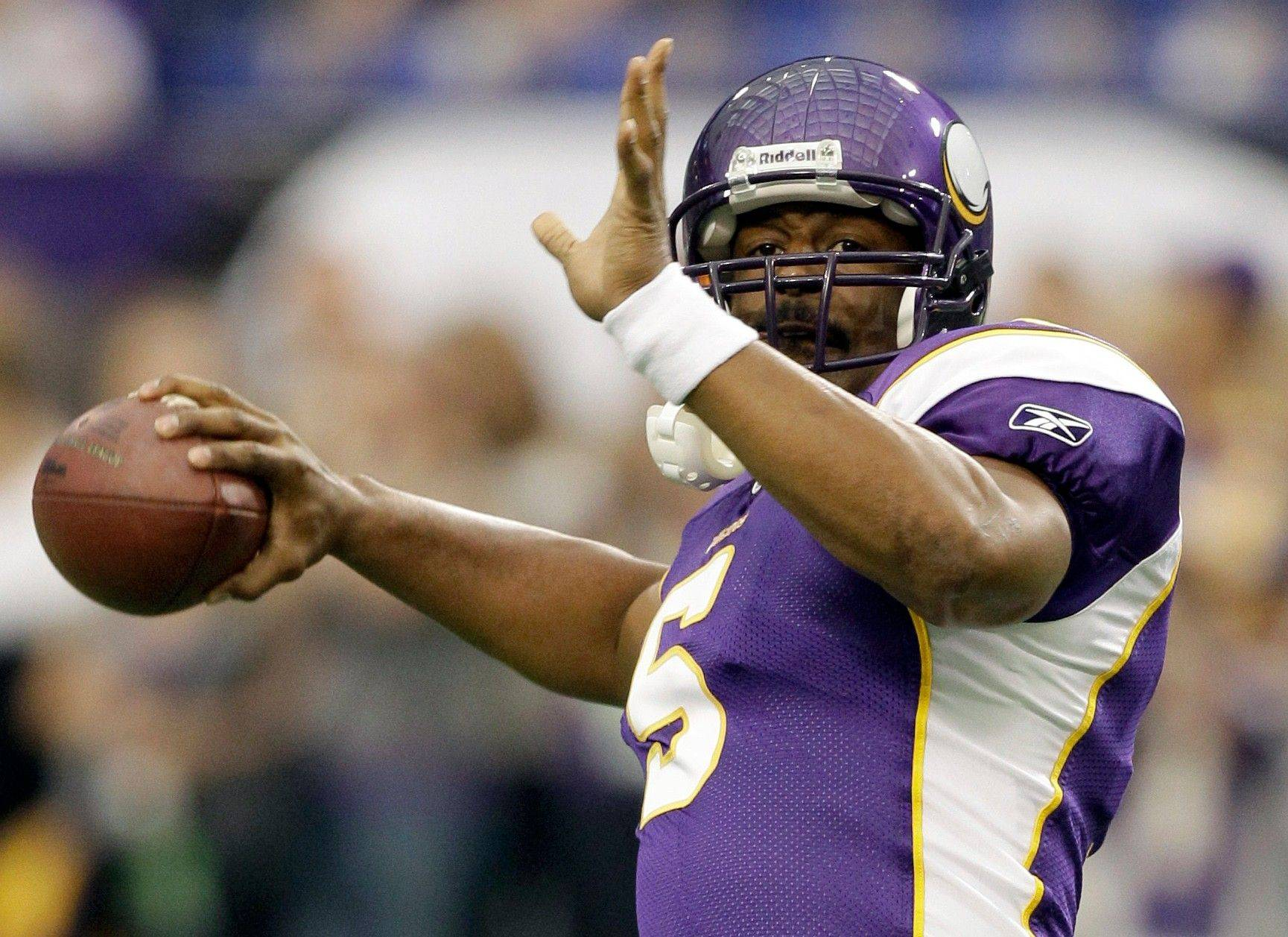 Minnesota Vikings quarterback Donovan McNabb will try to help new coach Leslie Frazier turn the Vikings into contenders.