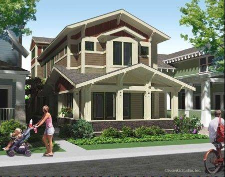 The rendering of the Not So Big Showhouse, a concept home being built in Libertyville.