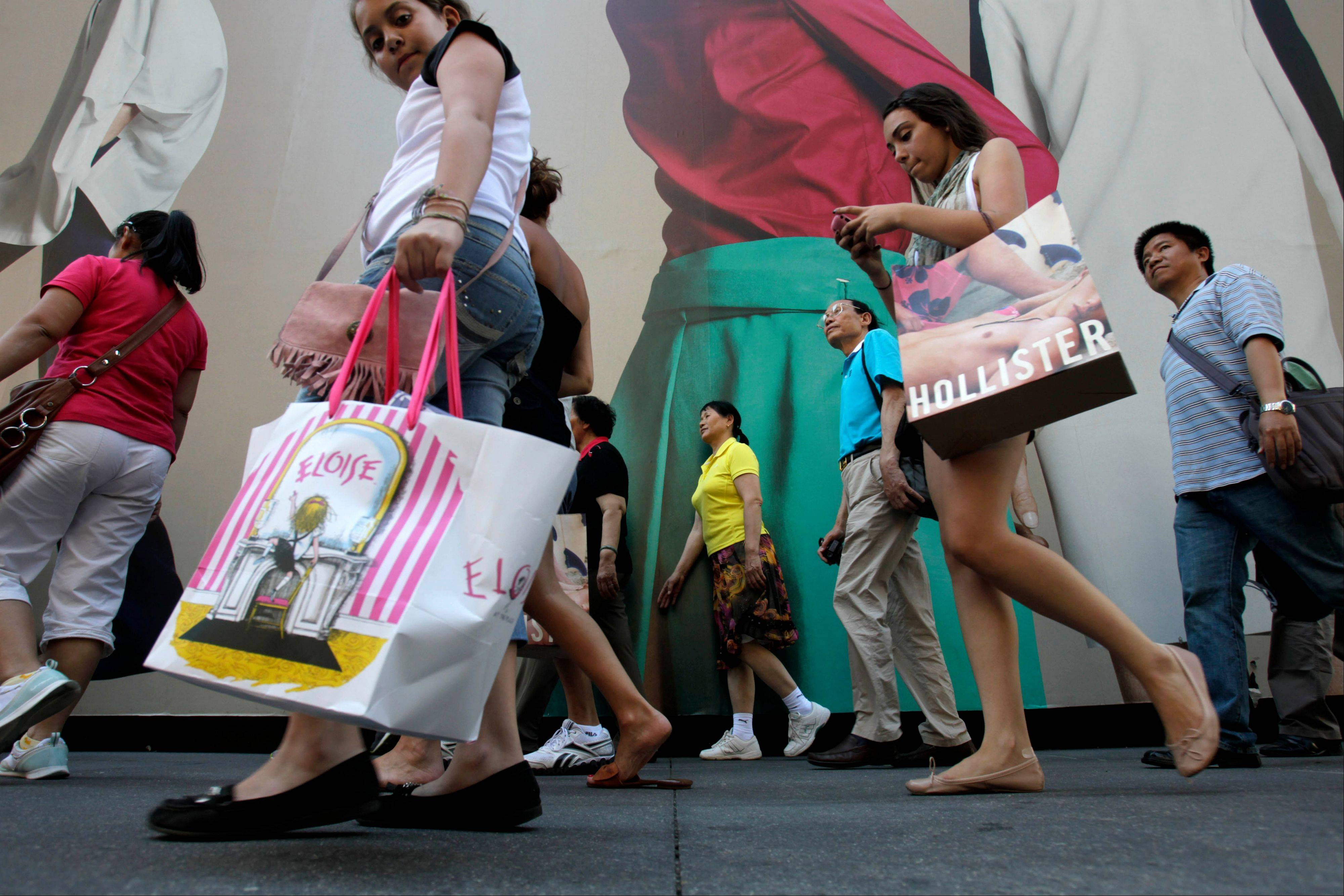 As the down economy batters both teens and their parents, teen clothing chains are having mixed success as they try to attract young people back into their stores by offering more of the things they love.