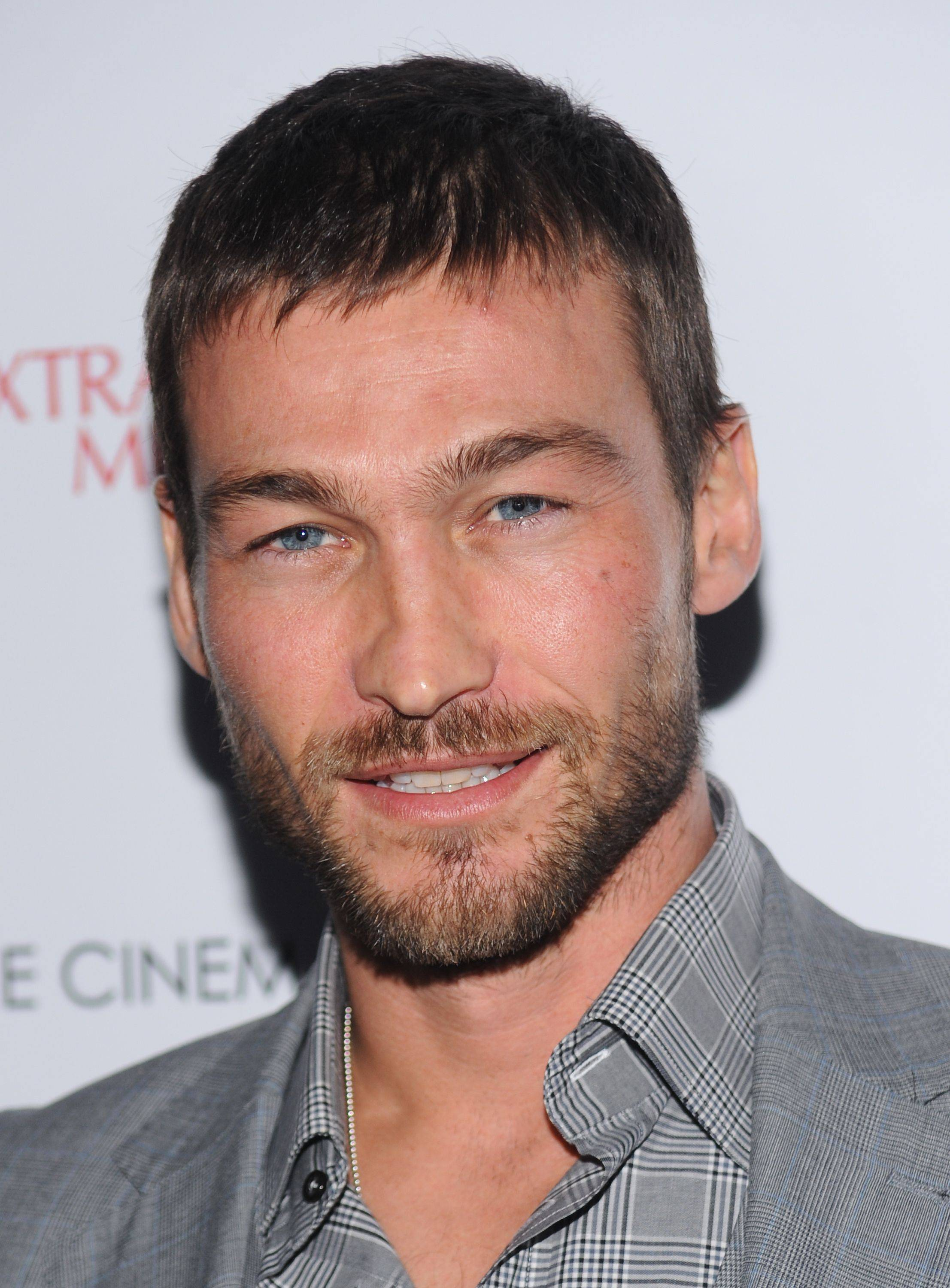 "Actor Andy Whitfield, seen here in January 2010, has died at the age of 39. Whitfield was the star of ""Spartacus: Blood and Sand"" until he was forced to leave the show to battle cancer."