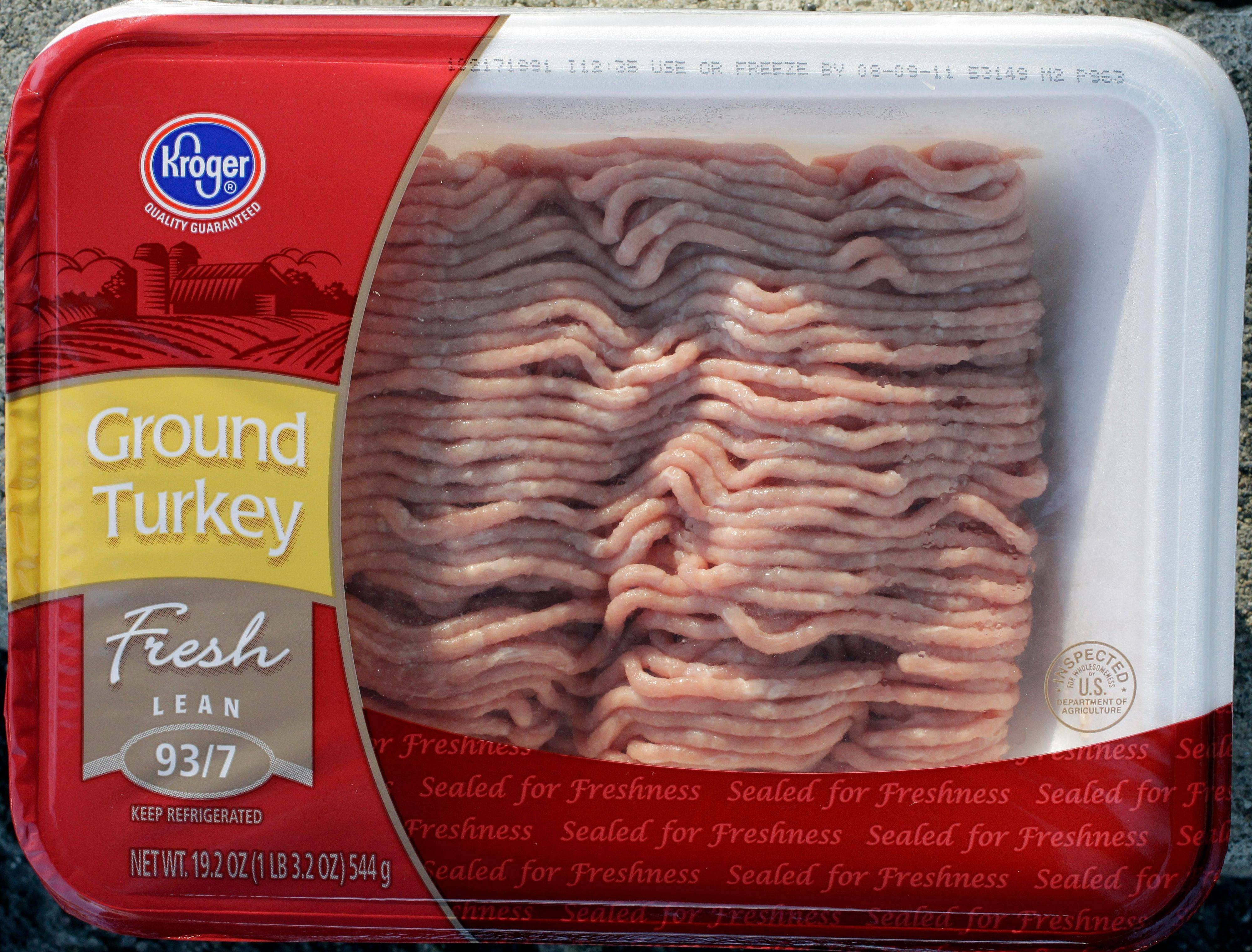 Cargill Inc. announced a second recall of ground turkey products Sunday after a test showed salmonella in a sample from the same Arkansas plant tied to a recall issued last month. The products were distributed nationwide under Kroger, Fresh HEB and Cargill's Honeysuckle White brands.