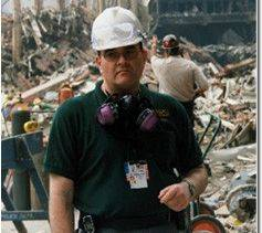 Mike Fagel of Sugar Grove served with the rescue and recovery operations at the World Trade Center site.