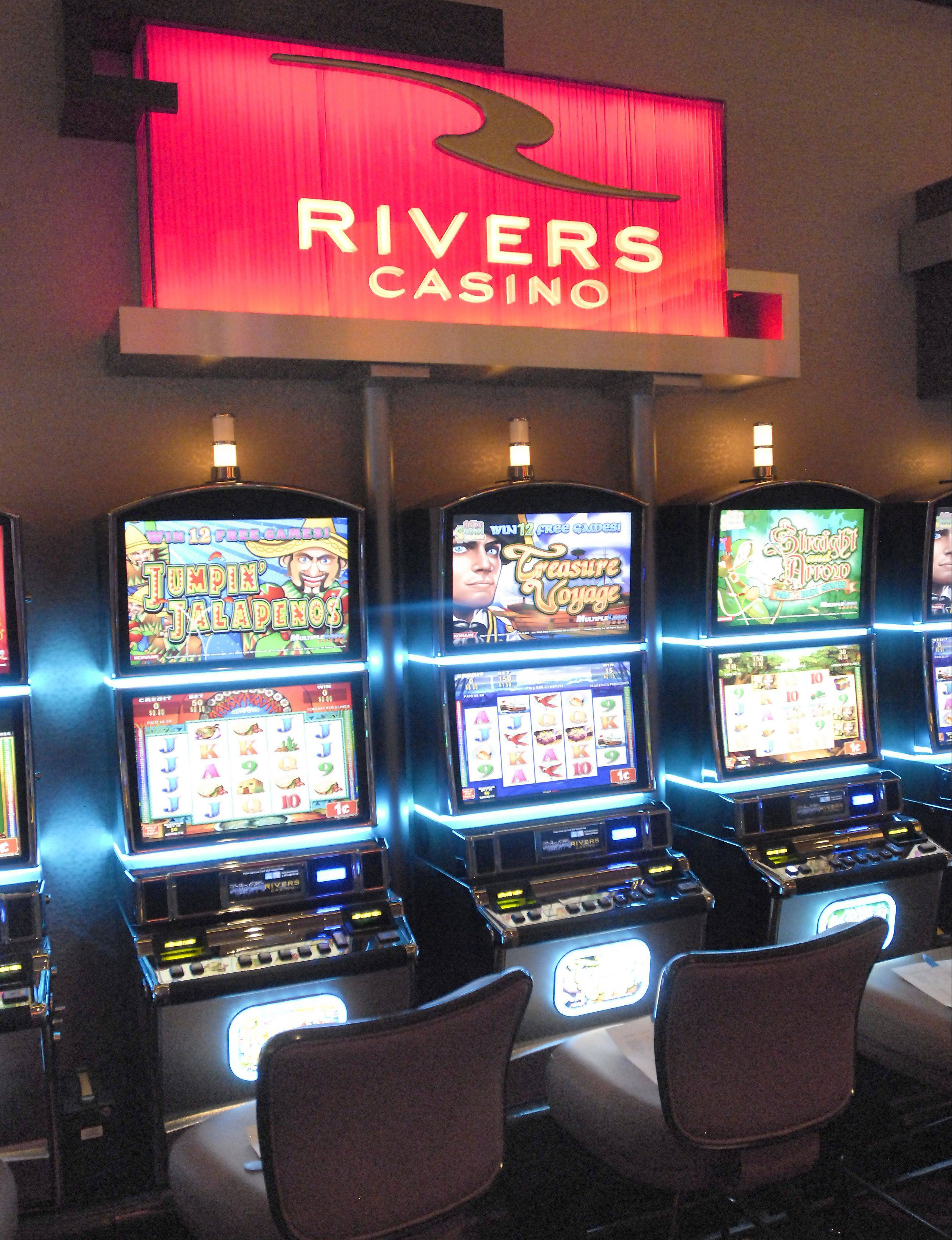 The new Rivers Casino is the most lucrative gambling facility in Illinois.