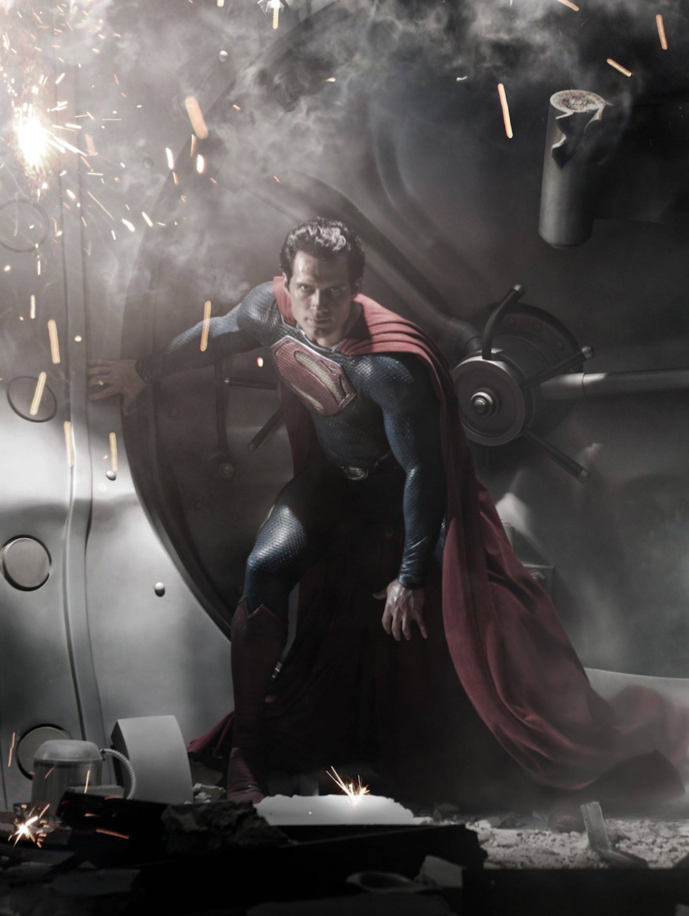 "Henry Cavill plays Superman in the upcoming film ""Man of Steel."" The film also stars Amy Adams, Russell Crowe, Diane Lane, Kevin Costner, Michael Shannon, Laurence Fishburne, Julia Ormond, Christopher Meloni and Antje Traue. It's the latest big-budget film to use Illinois and Chicago as a backdrop, pumping money into the economy and enjoying a tax credit that helps moviemakers keep down their costs."