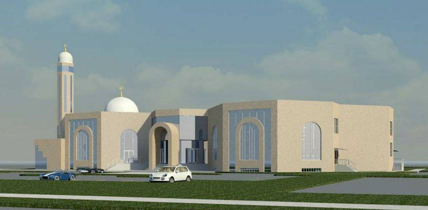 Muslim Community Association of the Western Suburbs on Tuesday received a conditional-use permit to construct a roughly 43,000-square-foot mosque near Lombard. But the mosque won't have a roughly 50-foot-tall dome or a minaret.