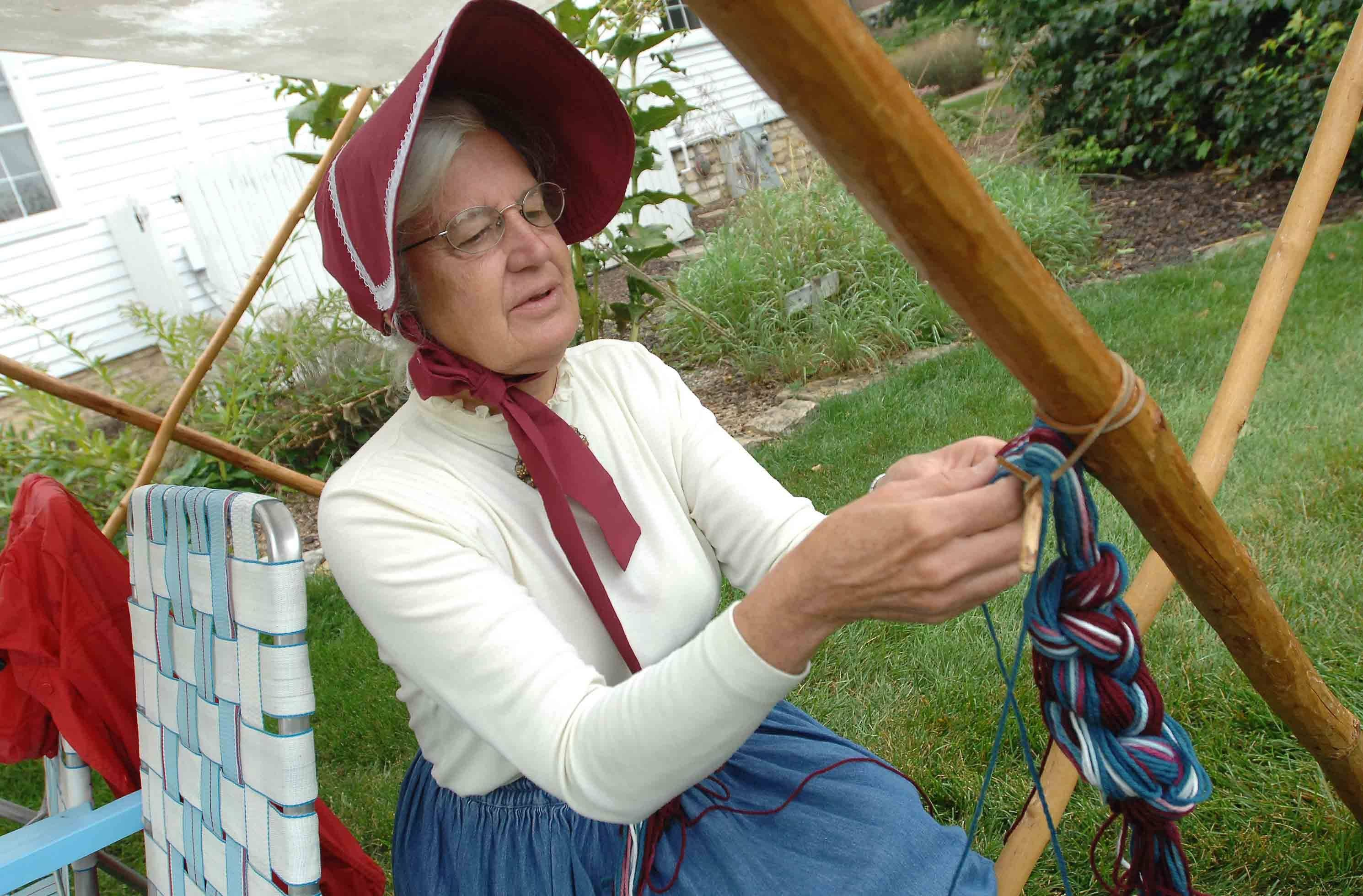 There will be a variety of pioneer craft demonstrations this weekend during Lisle Depot Days, which runs Saturday and Sunday at the Museums at Lisle Station Park, 921 School St.