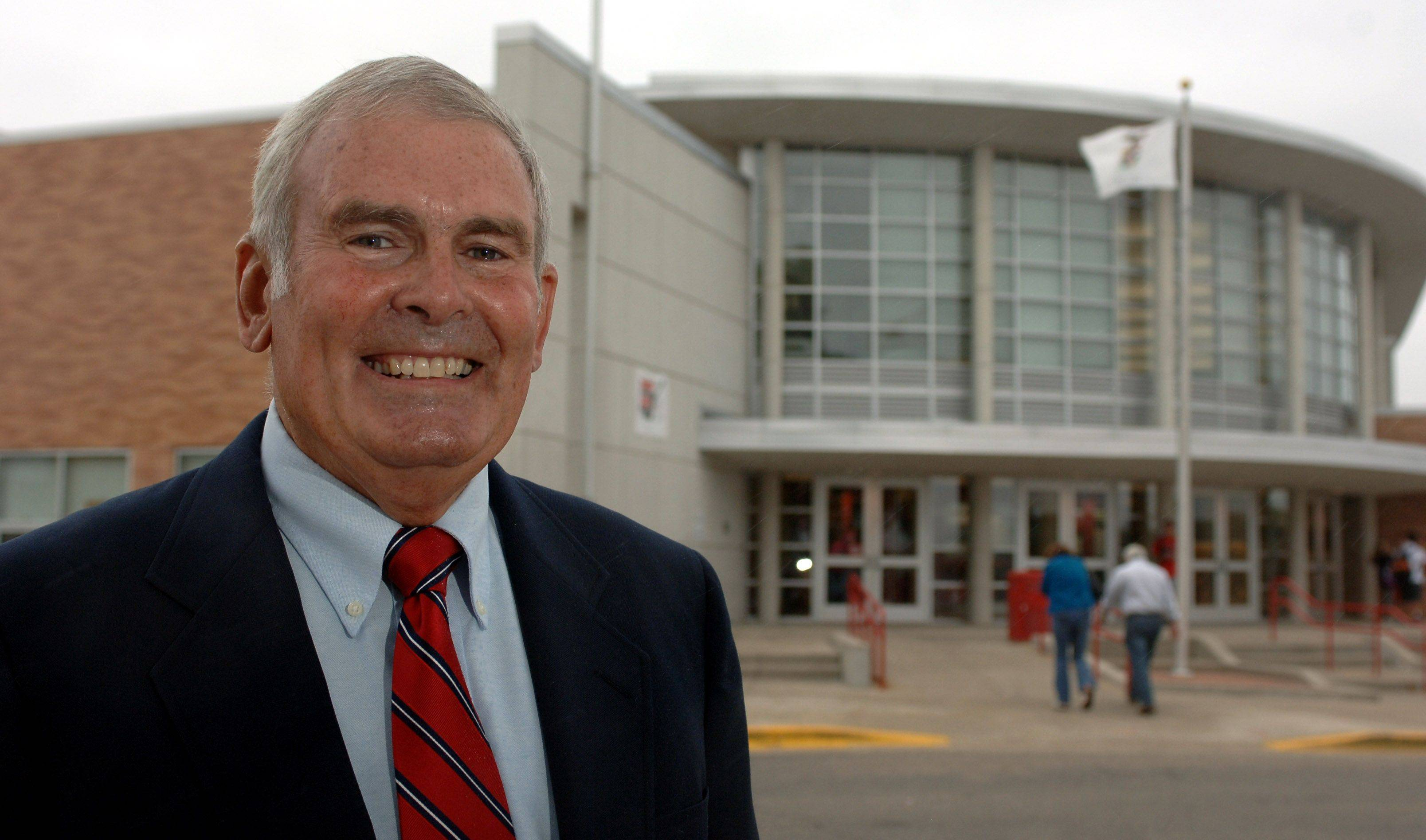 Mundelein High School is celebrating its 50th anniversary this weekend. The school's first class president, Brian Thatcher, will be grand marshal of the homecoming parade.