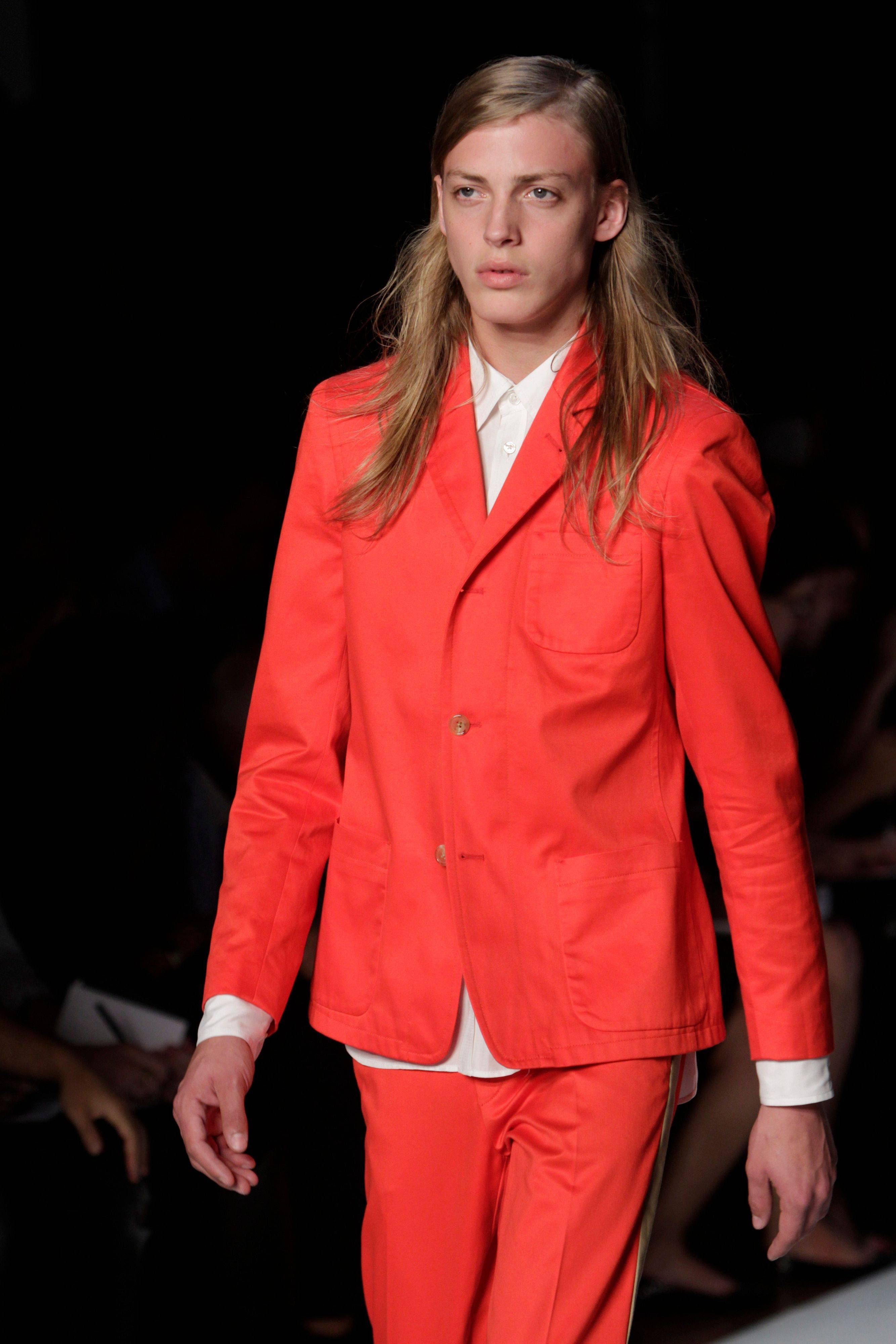 The Marc By Marc Jacobs Spring 2012 collection is modeled Monday, Sept. 12, 2011 during Fashion Week in New York.