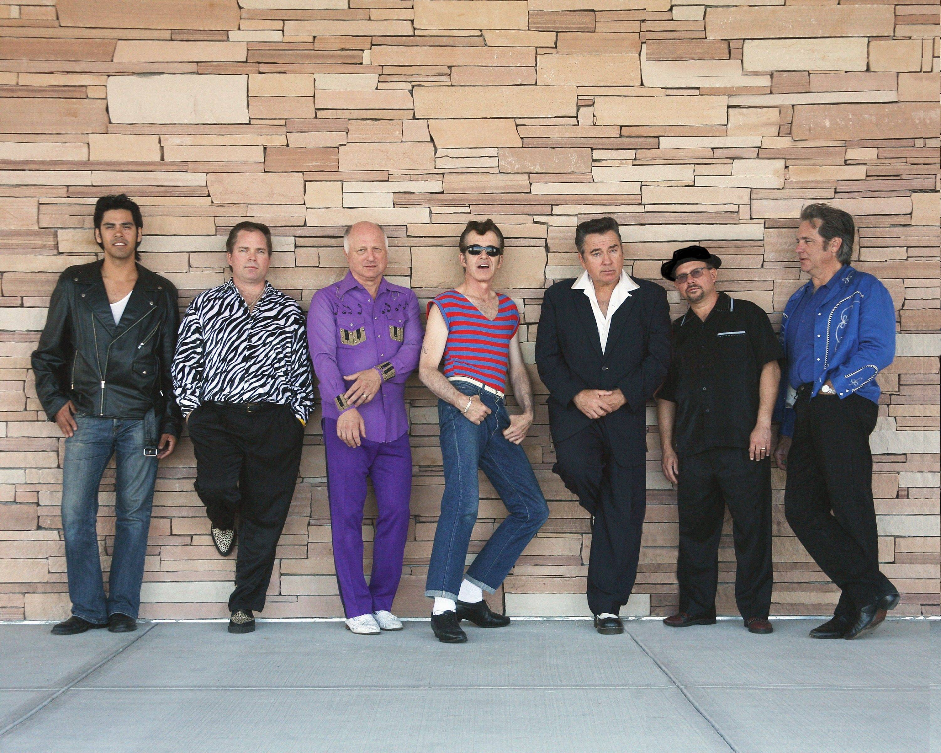 Travel back in time to the '50s when Sha Na Na headlines the Viper Alley in Lincolnshire Friday.