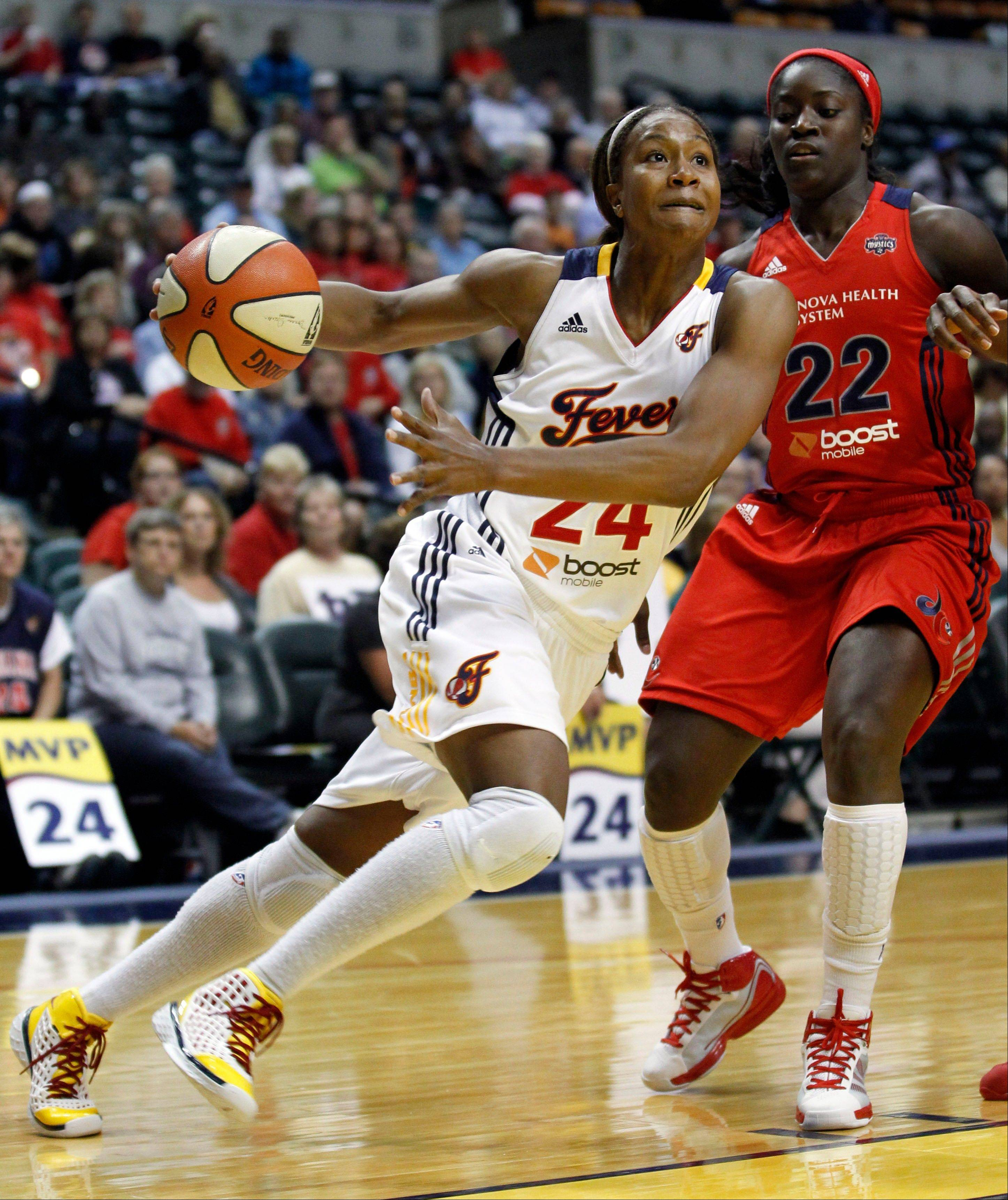Indiana Fever forward Tamika Catchings has her best chance ever to win a WNBA title.