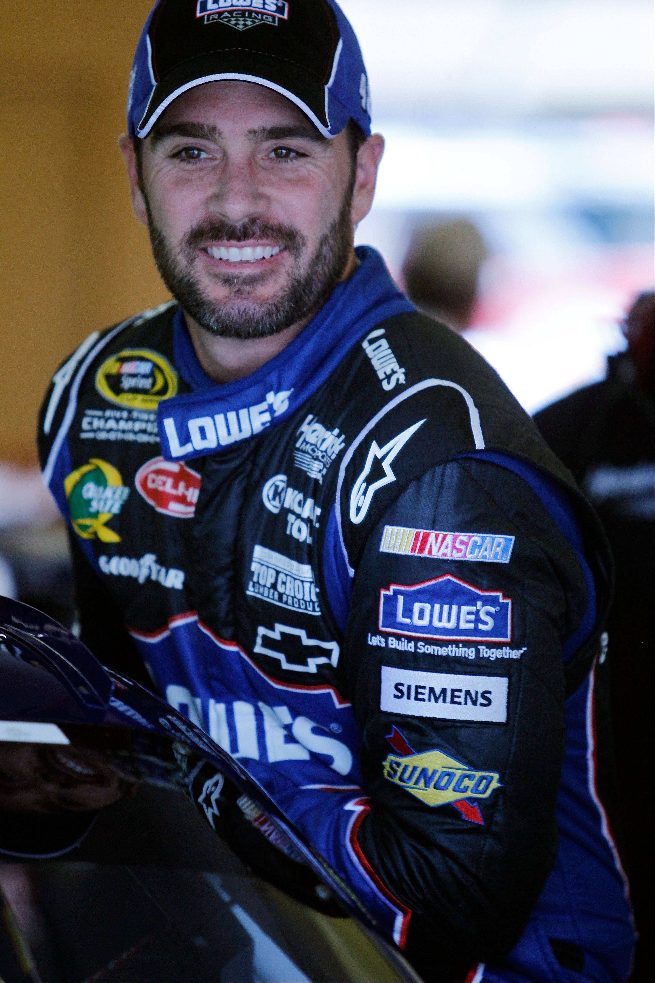 Jimmie Johnson says he has no problem finding motivation after winning five consecutive Sprint Cup championships. His quest for No. 6 begins this weekend at Chicagoland Speedway with the first race of the Chase for the NASCAR Sprint Cup. .