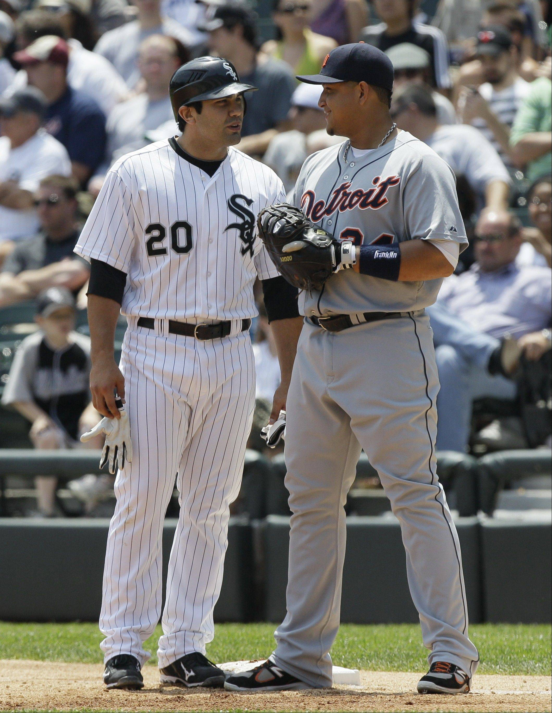 The White Sox will host the Detroit Tigers for their April 13 home opener in 2012, but they'll begin the season on the road at Texas on April 16.