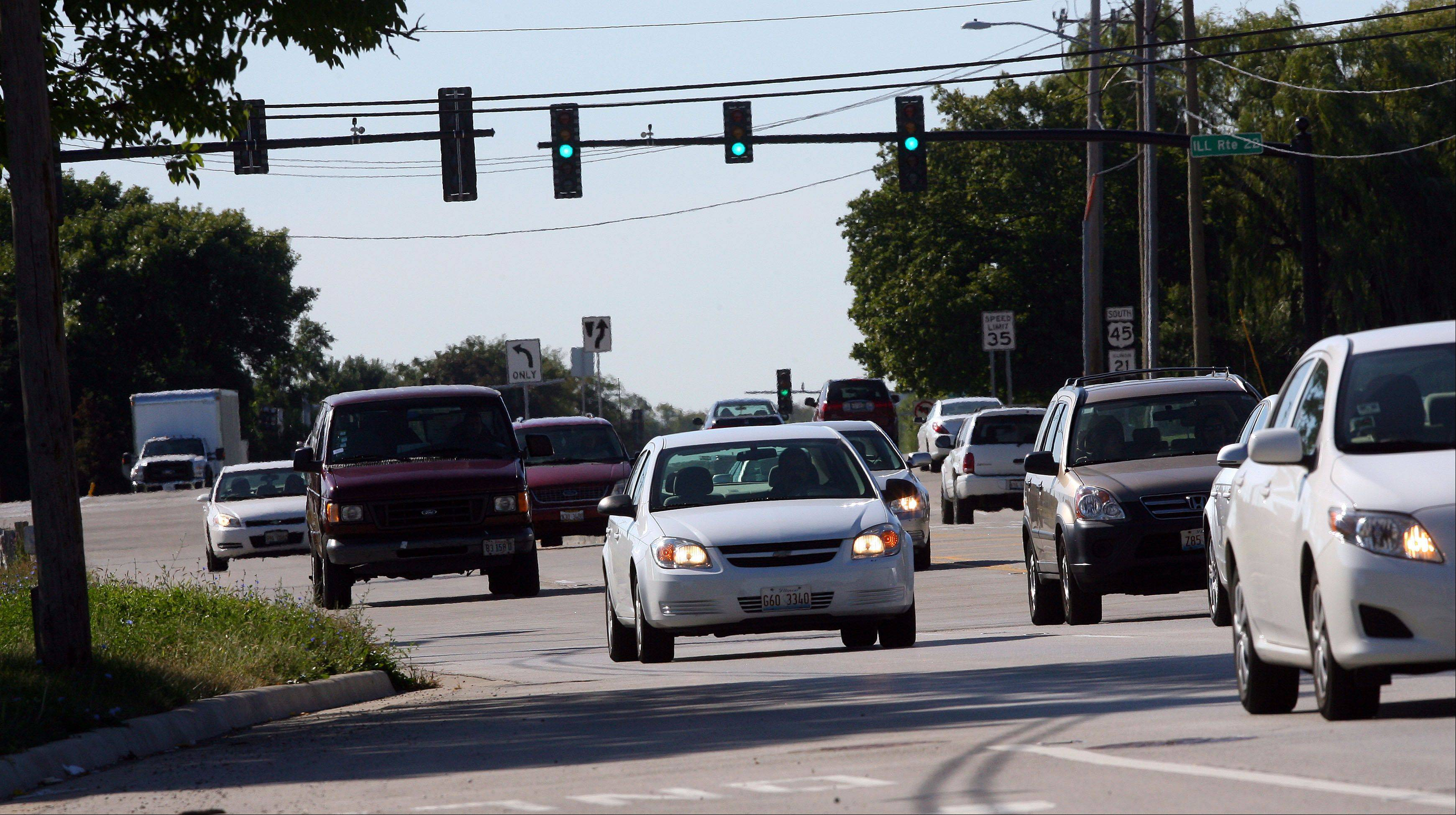 Lake County roadwork will cause more traffic headaches