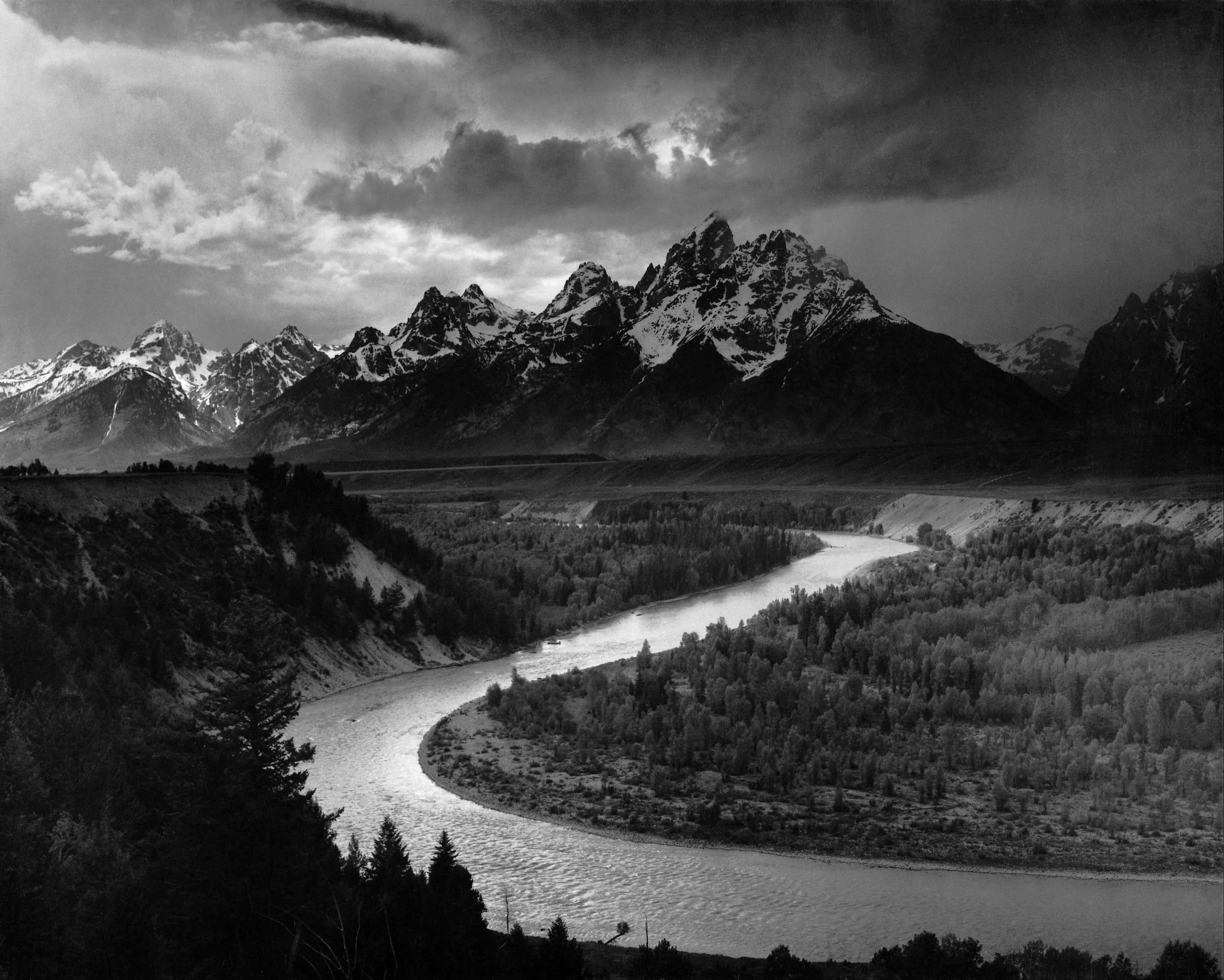 �The Tetons and the Snake River� is part of the new national touring exhibition featuring works by celebrated nature photographer Ansel Adams (1902-1984), Sept. 17 through Jan. 8, 2012 at the Lake County Discovery Museum near Wauconda.