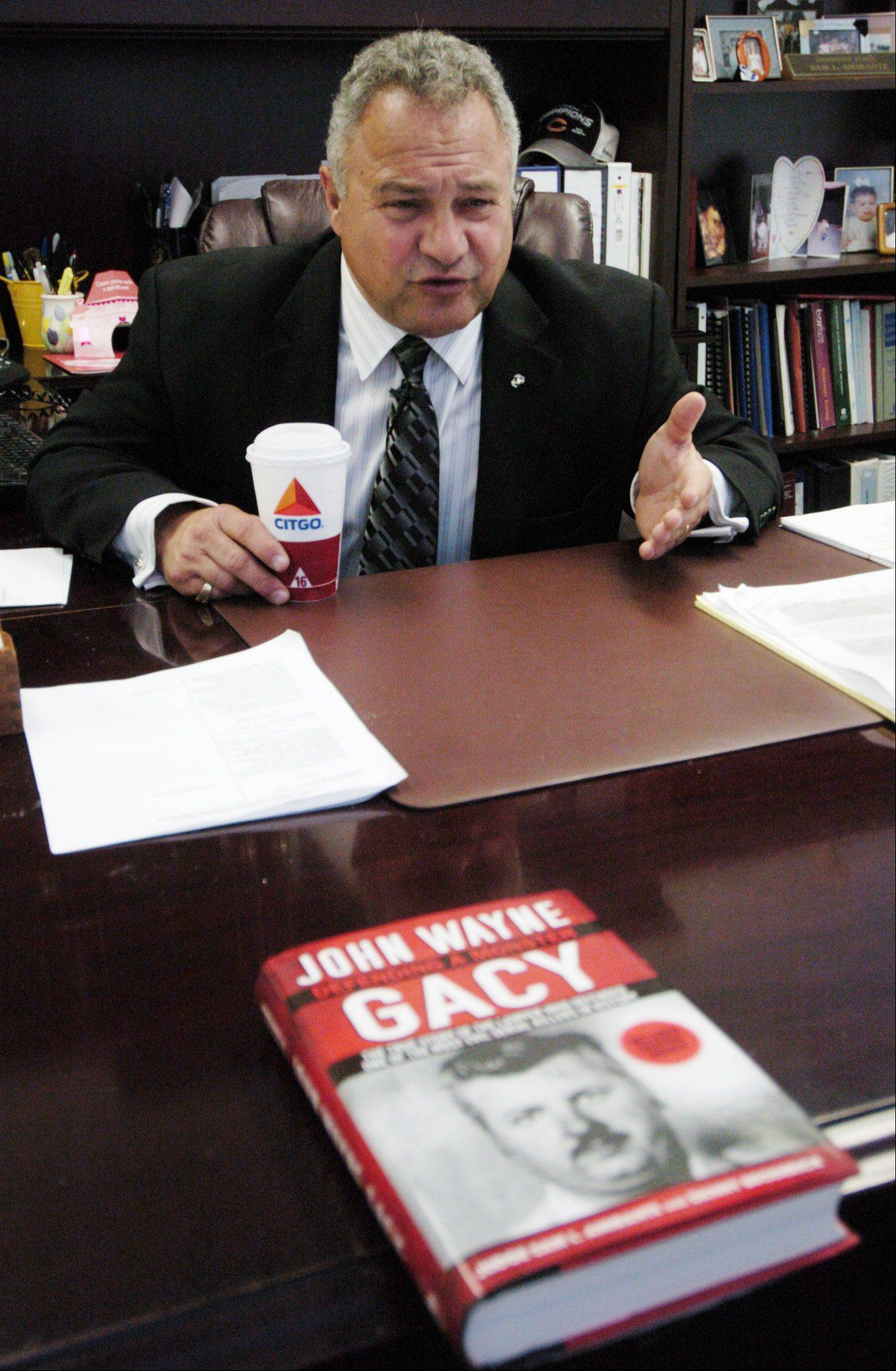 "Sam Amirante, John Wayne Gacy's defense attorney, discusses his book, ""Defending the Monster."""