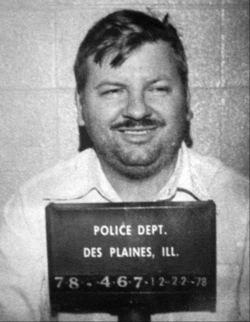Serial killer John Wayne Gacy.