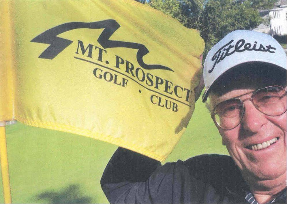Joe Becker at the Mount Prospect Golf Club on Aug. 31.