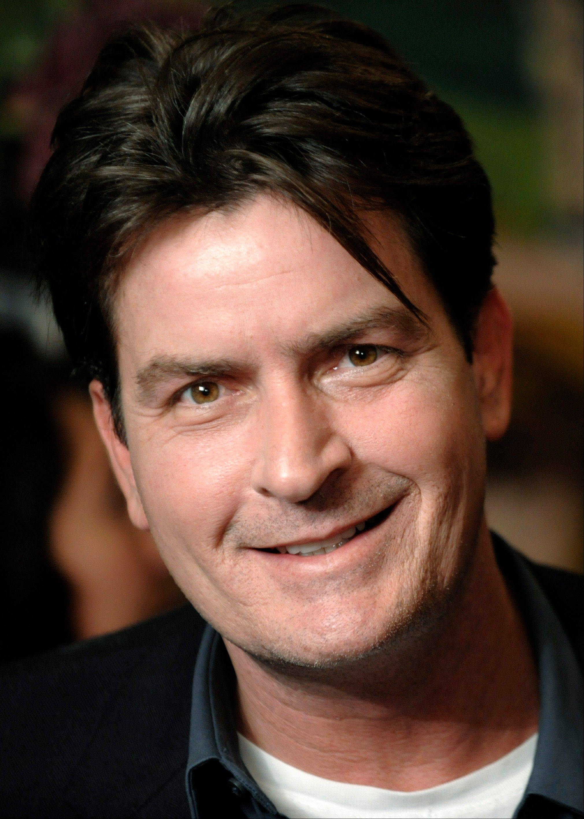 "Charlie Sheen on the ""Tonight Show"" Thursday said he is no longer angry with the producers who fired him from ""Two and a Half Men."""