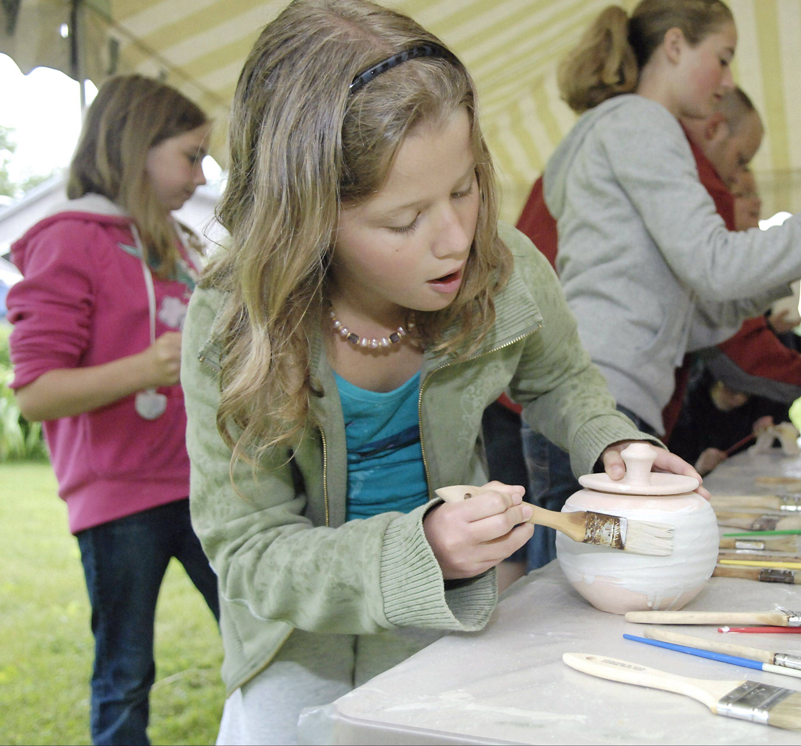Visitors to Blackberry Farm Park in Aurora on Sunday, Sept. 18, can decorate pottery Raku-style, have it fired on-site and take it home the same day. The event is set for 11 a.m. to 2 p.m.