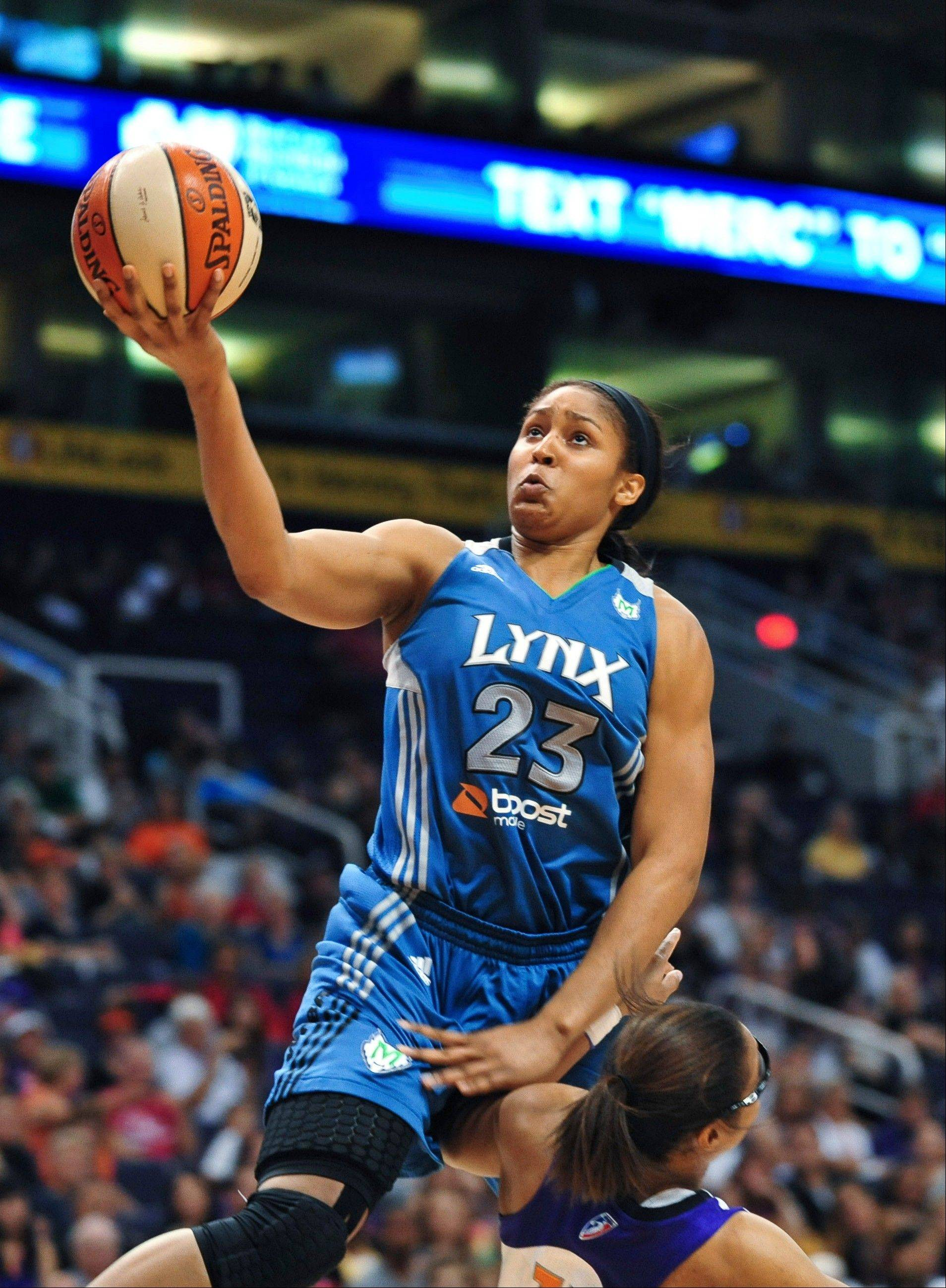Maya Moore was chosen as the WNBA rookie of the year on Friday, Sept. 16, 2011.