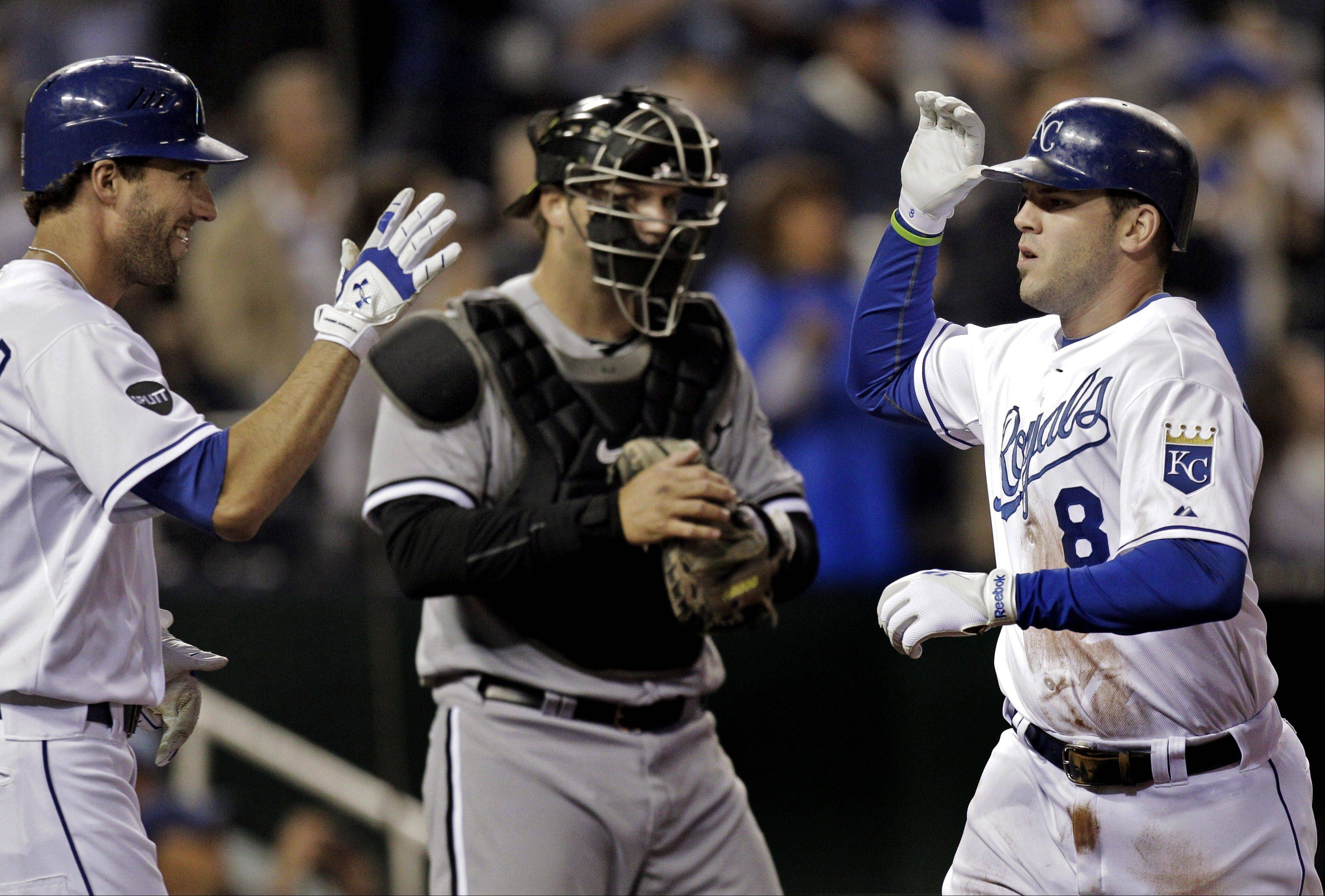The Kansas City Royals topped the White Sox 7-6 Friday night.