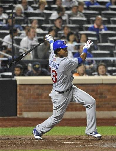 At 21, Cubs shortstop Starlin Castro would become the youngest player in franchise history to reach 200 hits and the first Cubs player to get there as a shortstop. He'd also become only the fifth major-leaguer since 1940 to collect at least 200 hits at 21 or younger.