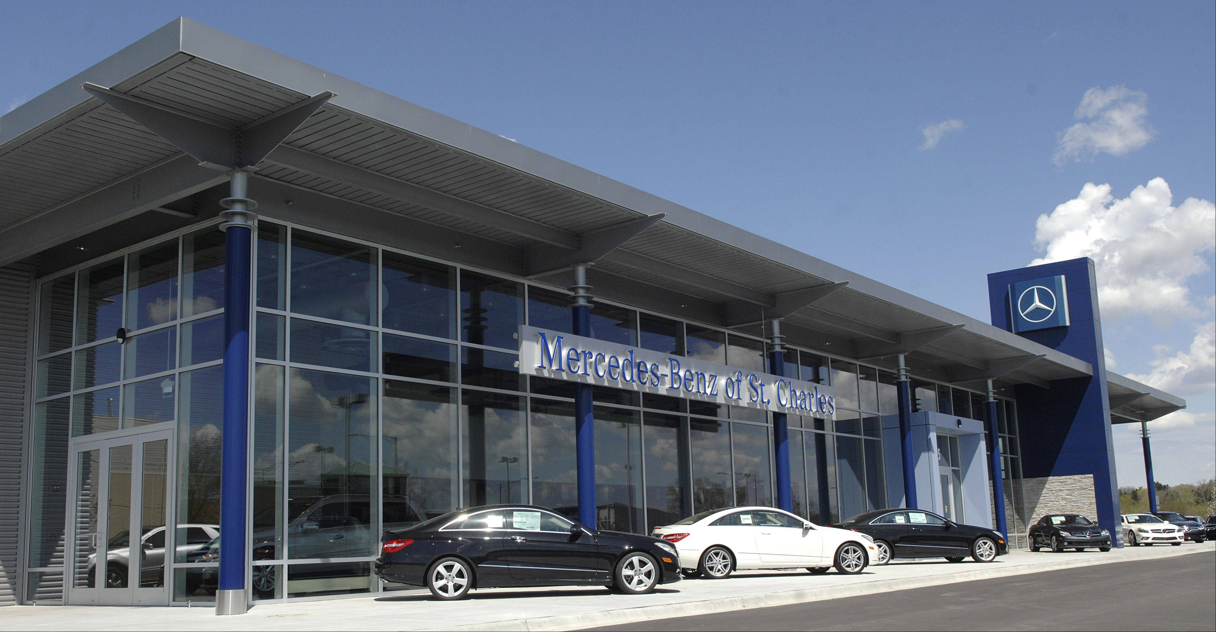 Mercedes-Benz of St. Charles at 225 N. Randall Road.