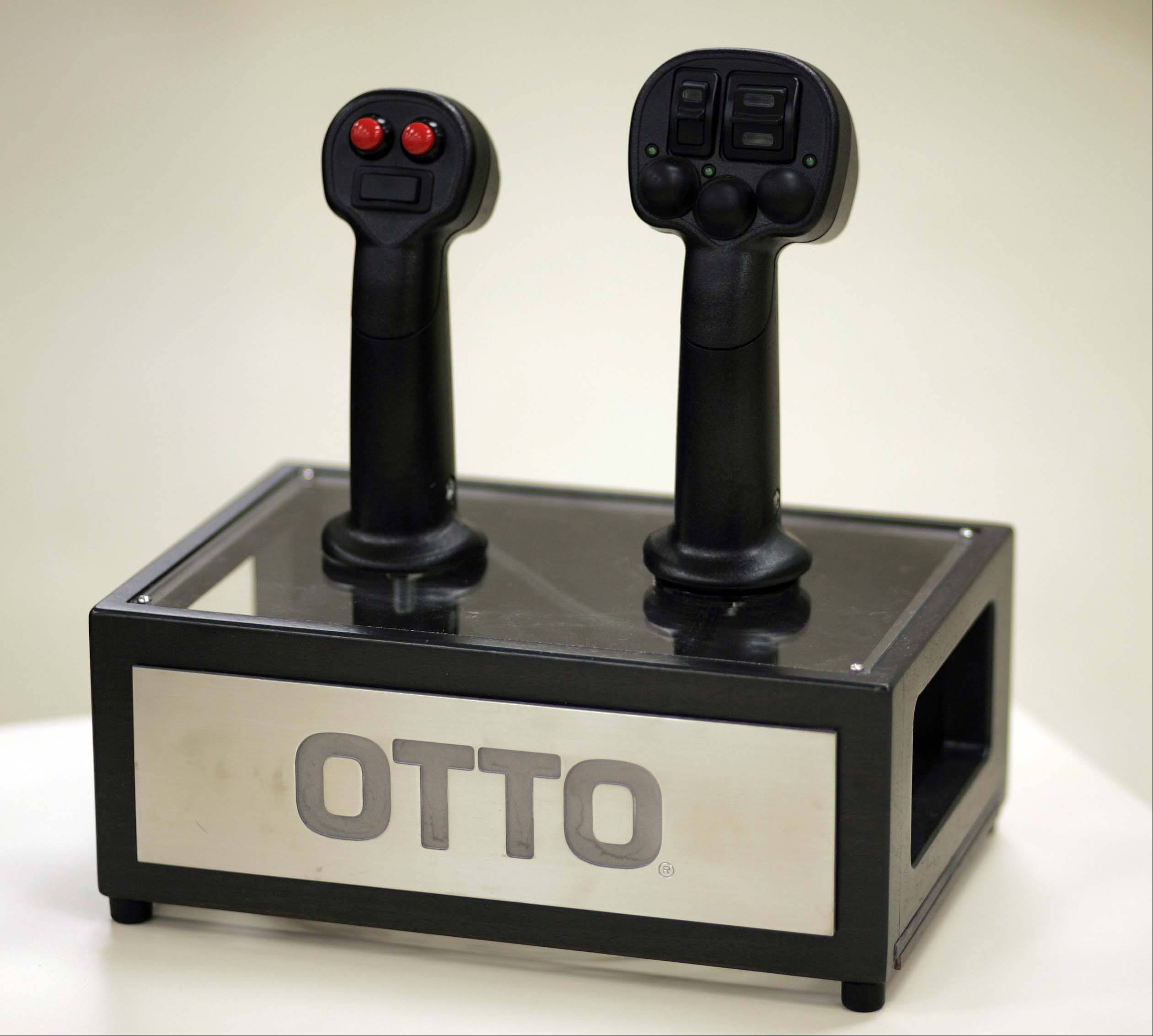 Here is a couple of the controllers that would commonly be used in large construction or agricultural machines.