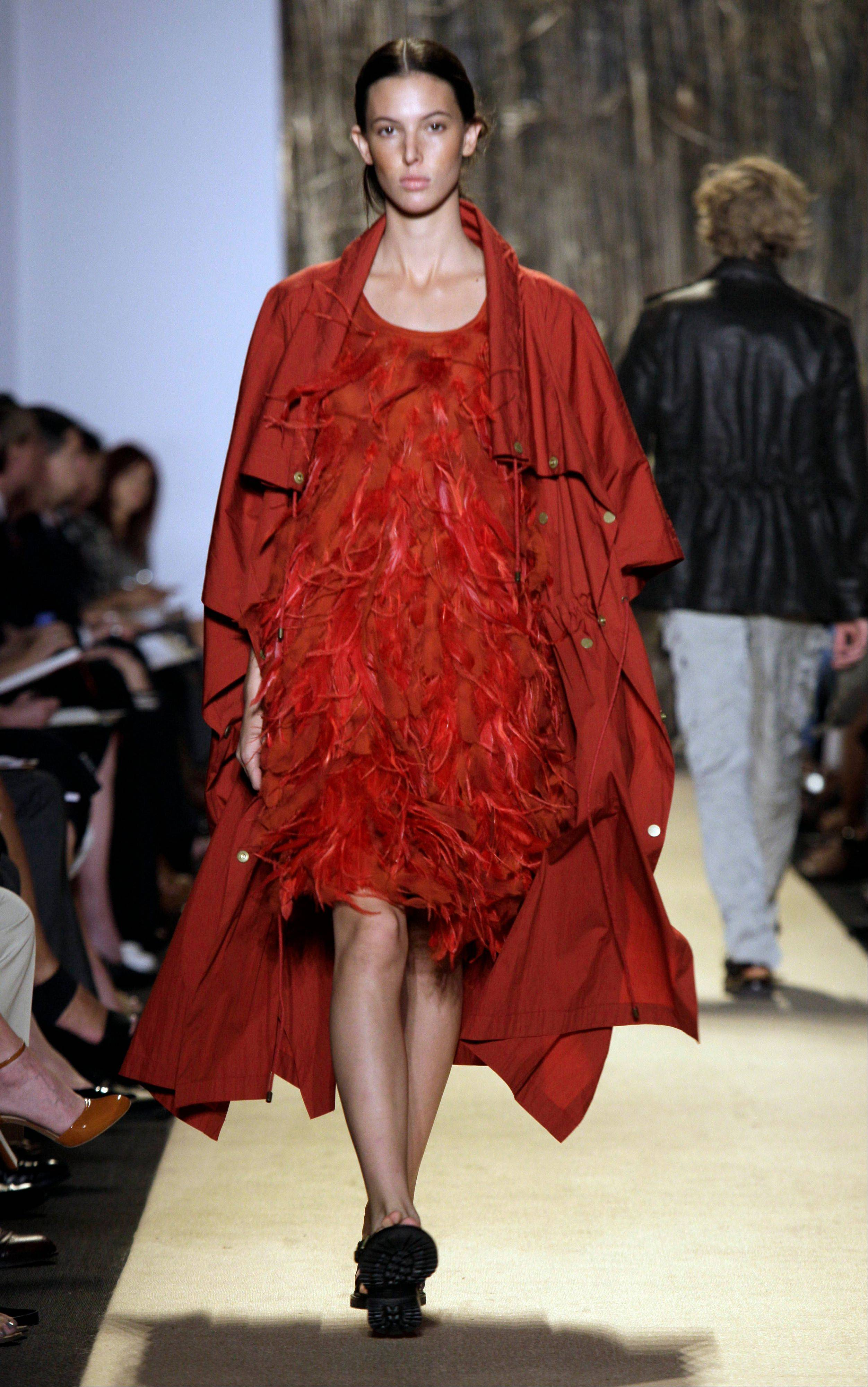 The spring 2012 collection of Michael Kors is modeled during Fashion Week in New York.