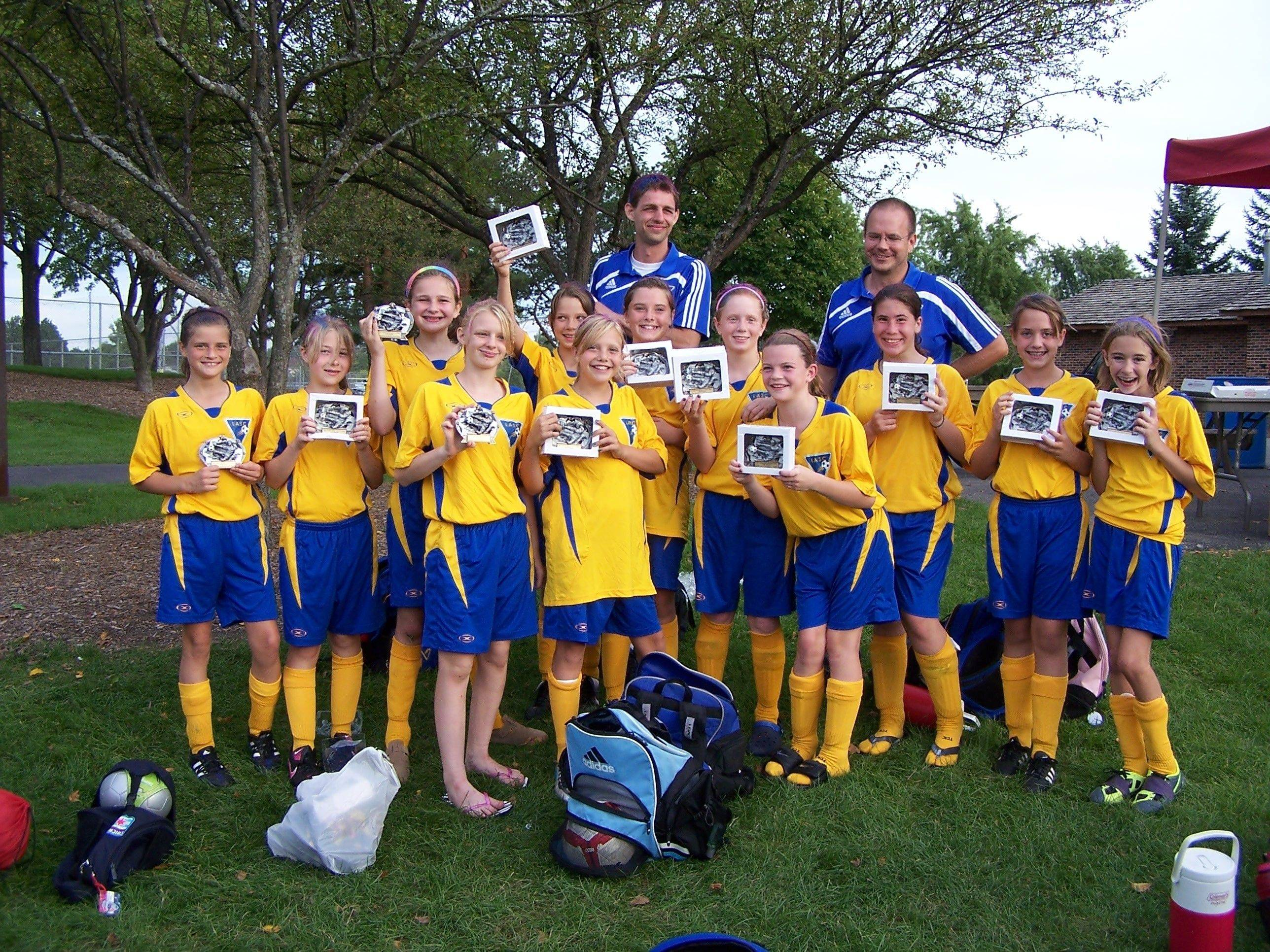The LASC Twisters Blue squad recently won in the Black Division of Buffalo Grove's Kickoff Classic, beating teams from Northbrook, Park Ridge, Arlington Heights and Mount Prospect.