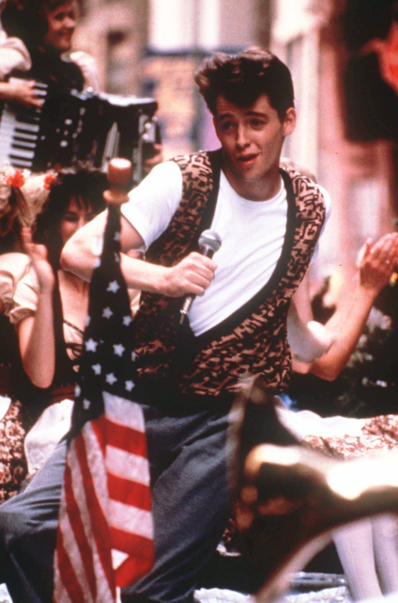"""Ferris Bueller's Day Off,"" the classic 1986 movie filmed in Chicago, will be the first movie ever shown at Wrigley Field Saturday night, Oct. 1."