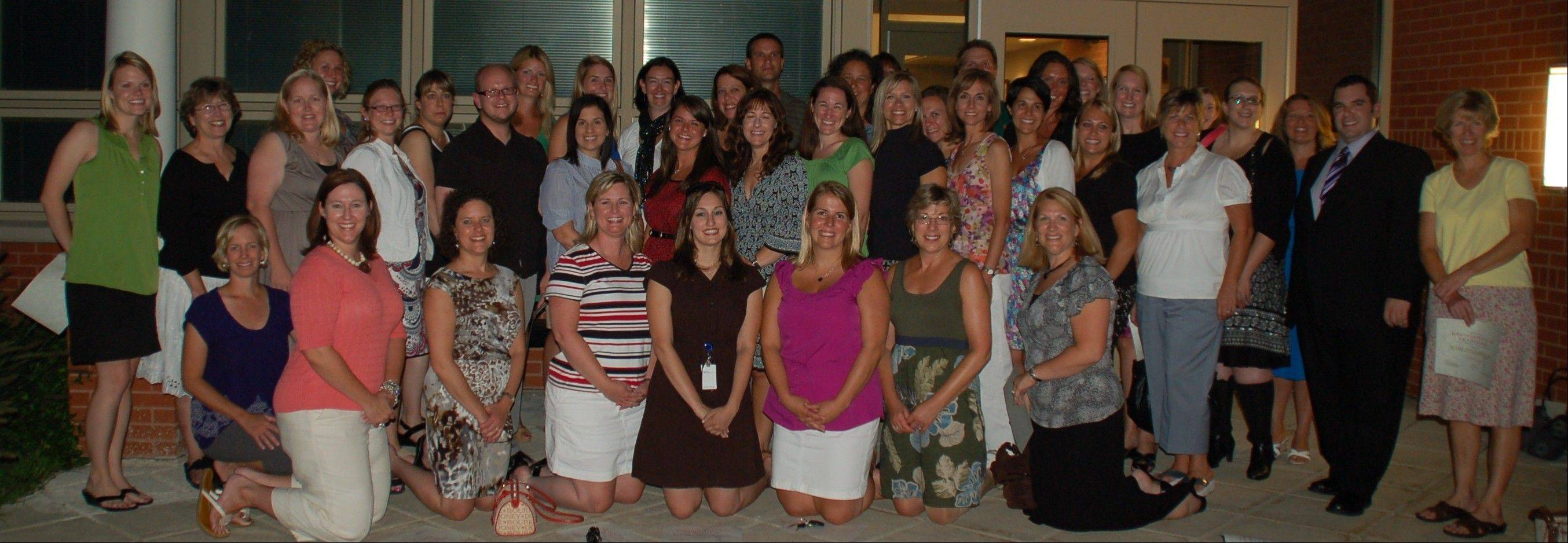 Several Libertyville Elementary District 70 teachers were honored for their leadership skills recently at a school board meeting. Described as �teachers of teachers,� they were recognized for helping their colleagues and serving on the Strategic Plan committee.