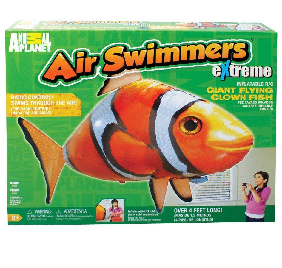 Air Swimmers eXtreme Giant Flying Clown Fish.