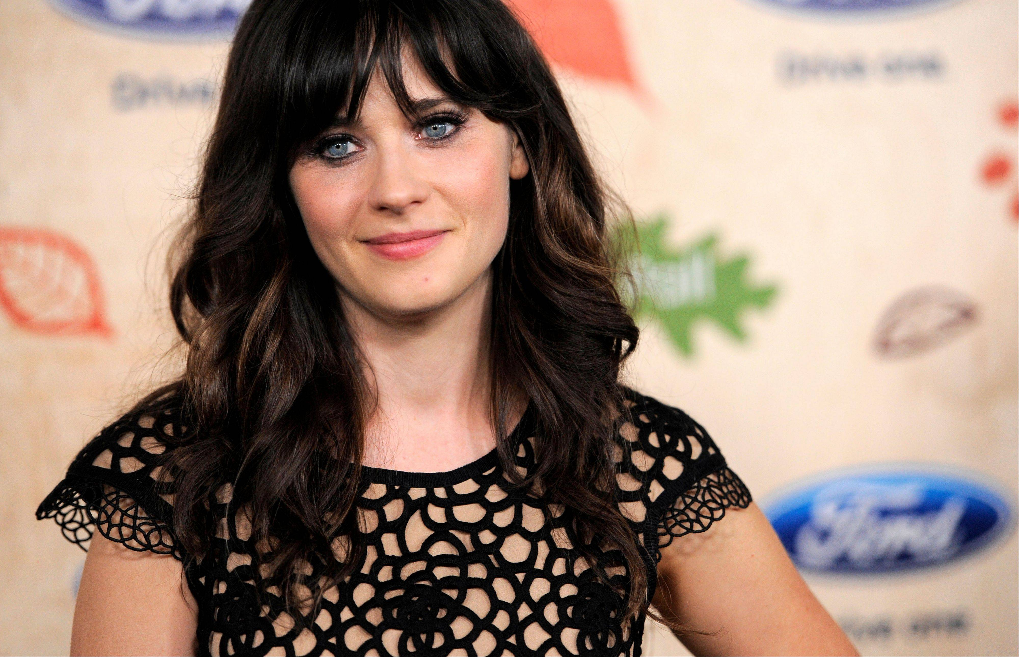 "In Fox's ""New Girl,"" which premieres Tuesday, Zooey Deschanel plays Jess Day, a schoolteacher who is goofy, good-natured and unguarded in her dealings with the world."