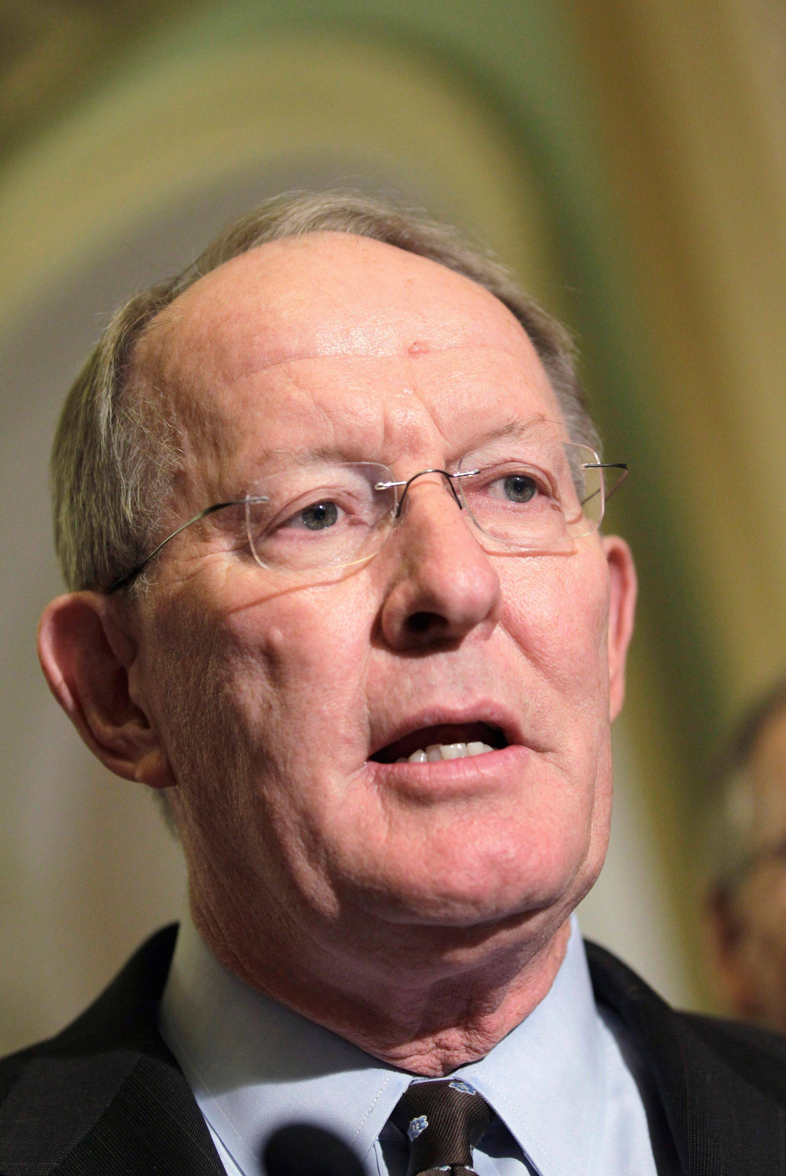 Sen. Lamar Alexander, R-Tenn., the number three Senate Republican leader, is seen on Capitol Hill in Washington. Alexander, chairman of the Senate Republican Conference for four years, said he will step down from his leadership post but remain in the Senate and run for re- election in 2014.
