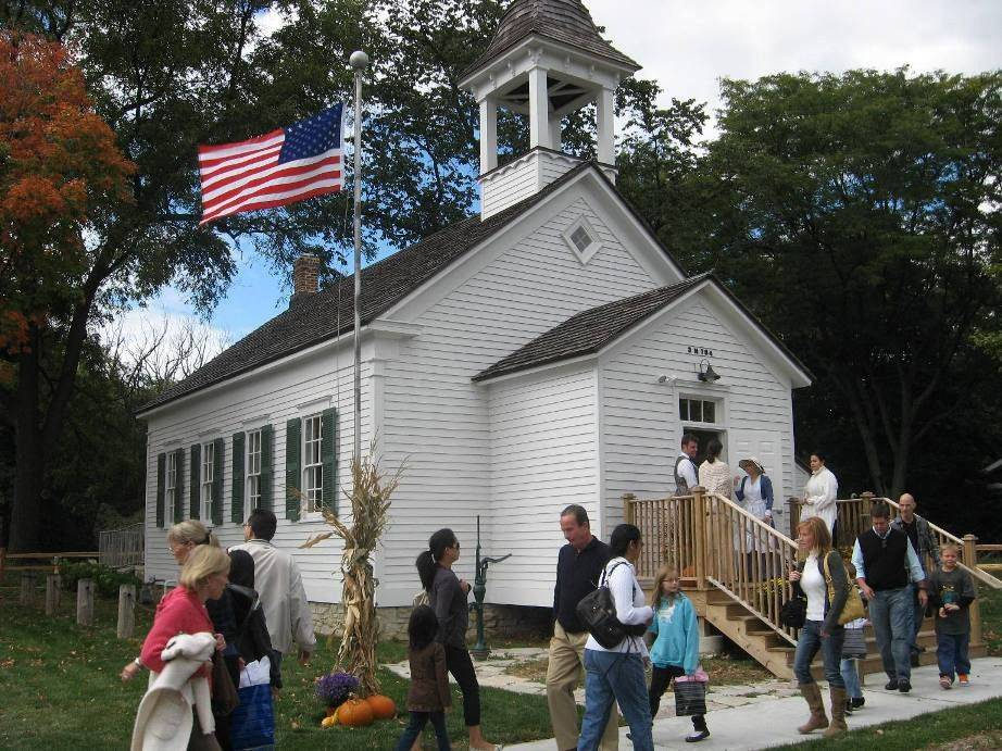 See the newly renovated Churchville Schoolhouse at its Fall Open House from 1 to 4 p.m. Sunday, Sept. 25, in Bensenville.