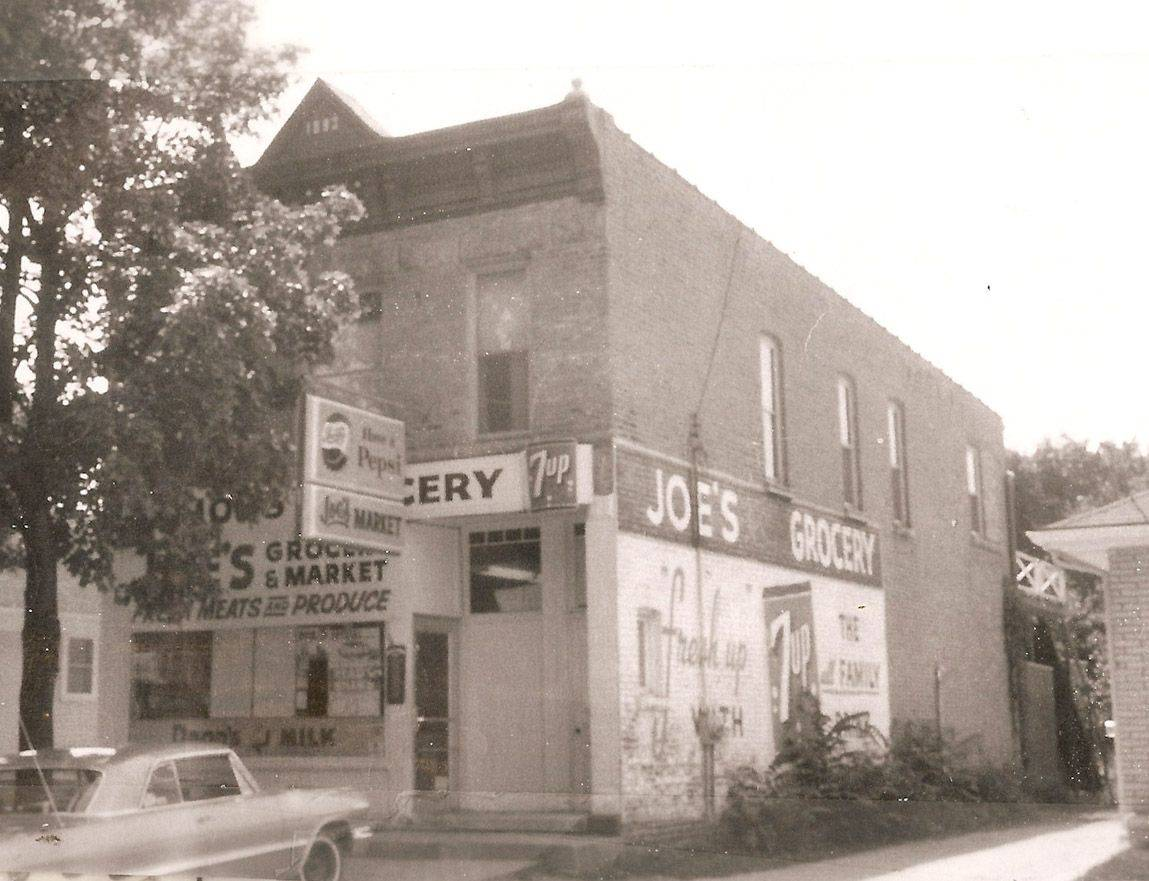 Roland Josephson opened his own store on Prospect Street, south of McKinley School, in the 1960s. His store is now a residence.
