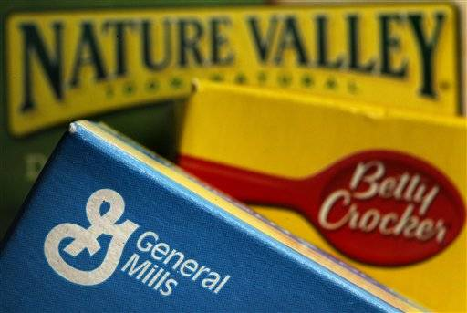 General Mills Inc.'s fiscal first-quarter net income fell 14 percent, but its adjusted results beat Wall Street's expectations as revenue climbed on higher prices, solid demand and new products.