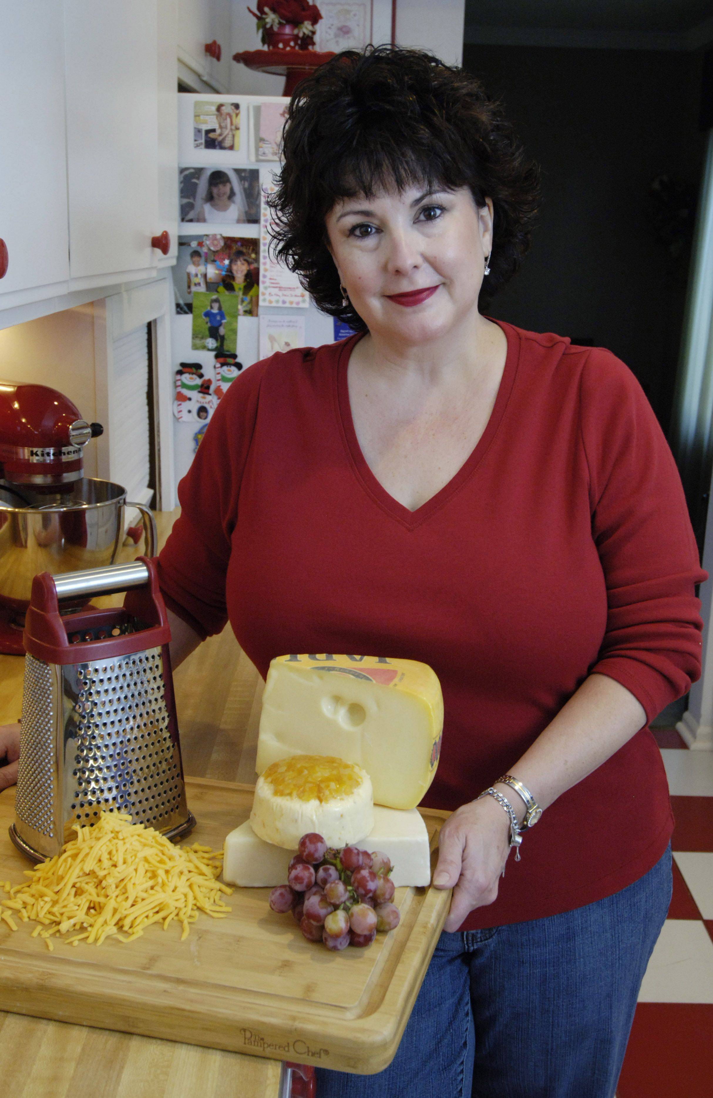 JOE LEWNARD/jlewnard@dailyherald.com Cook of the Week Challenge contestant Mary Beth Riley of Elk Grove Village.